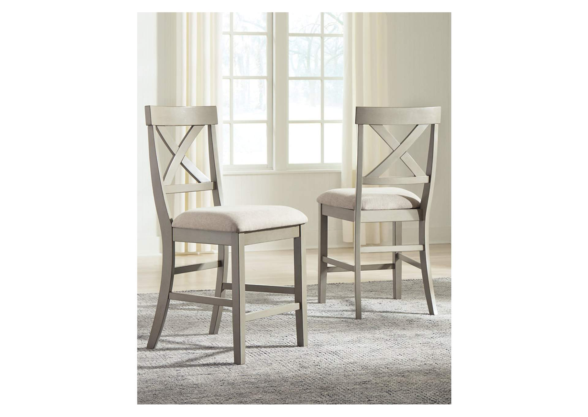 Parellen Counter Height Bar Stool (Set of 2),Signature Design By Ashley