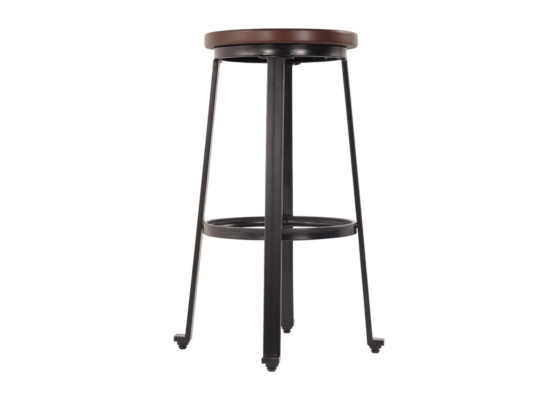 Challiman Rustic Brown Tall Stool (Set of 2),Direct To Consumer Express