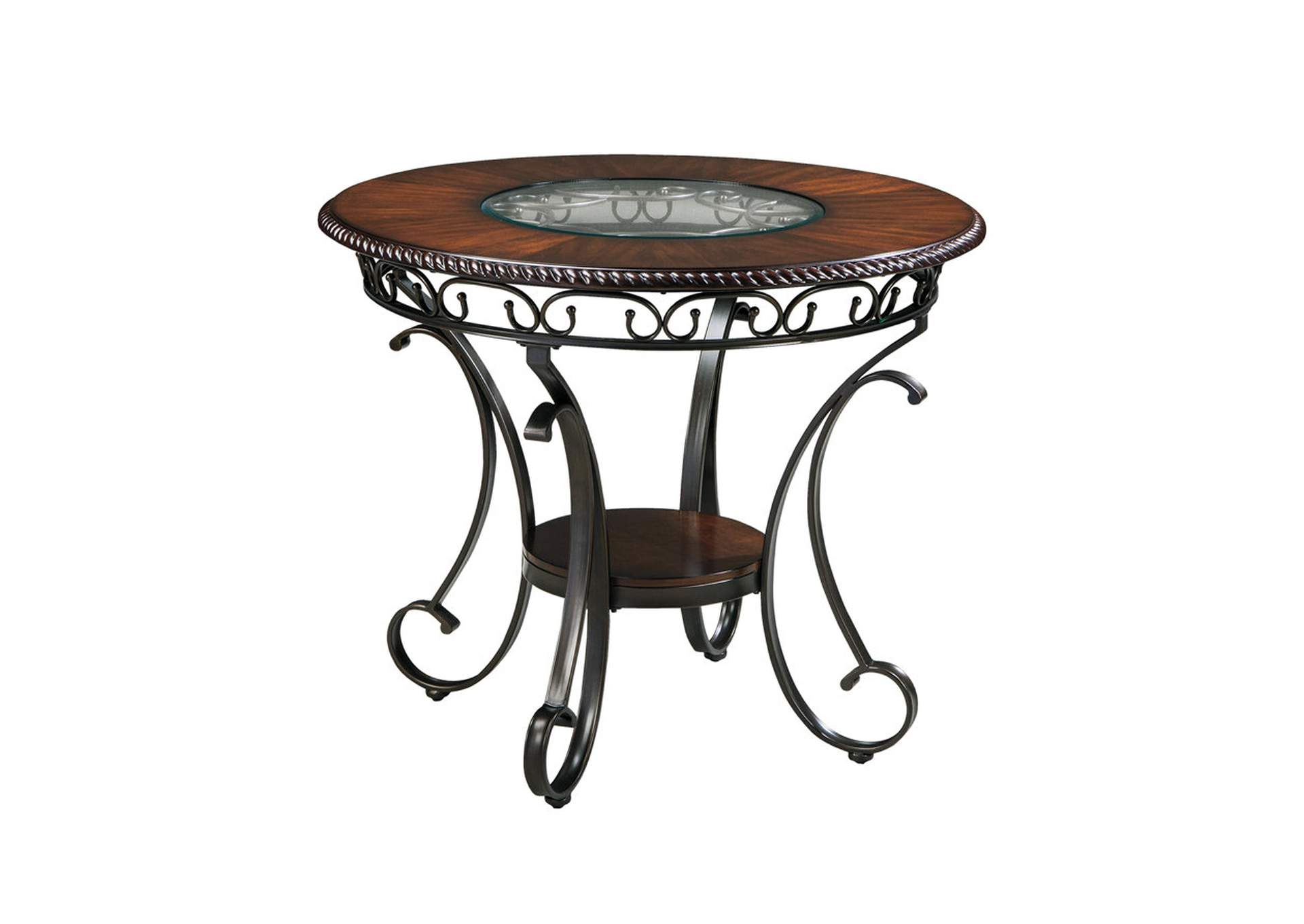Glambrey Round Counter Height Table,Direct To Consumer Express