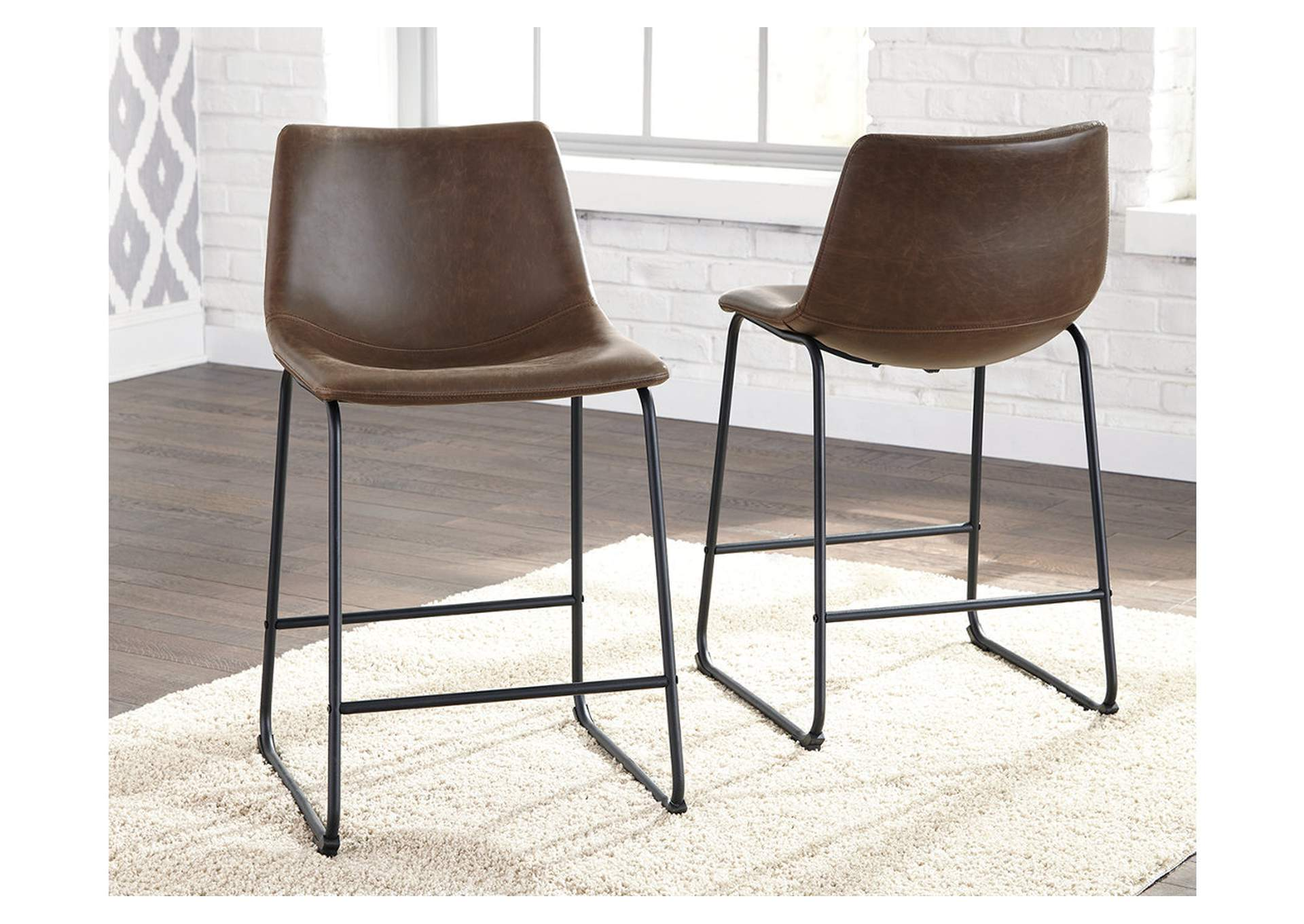 Centiar Counter Height Bar Stool (Set of 2),Signature Design By Ashley