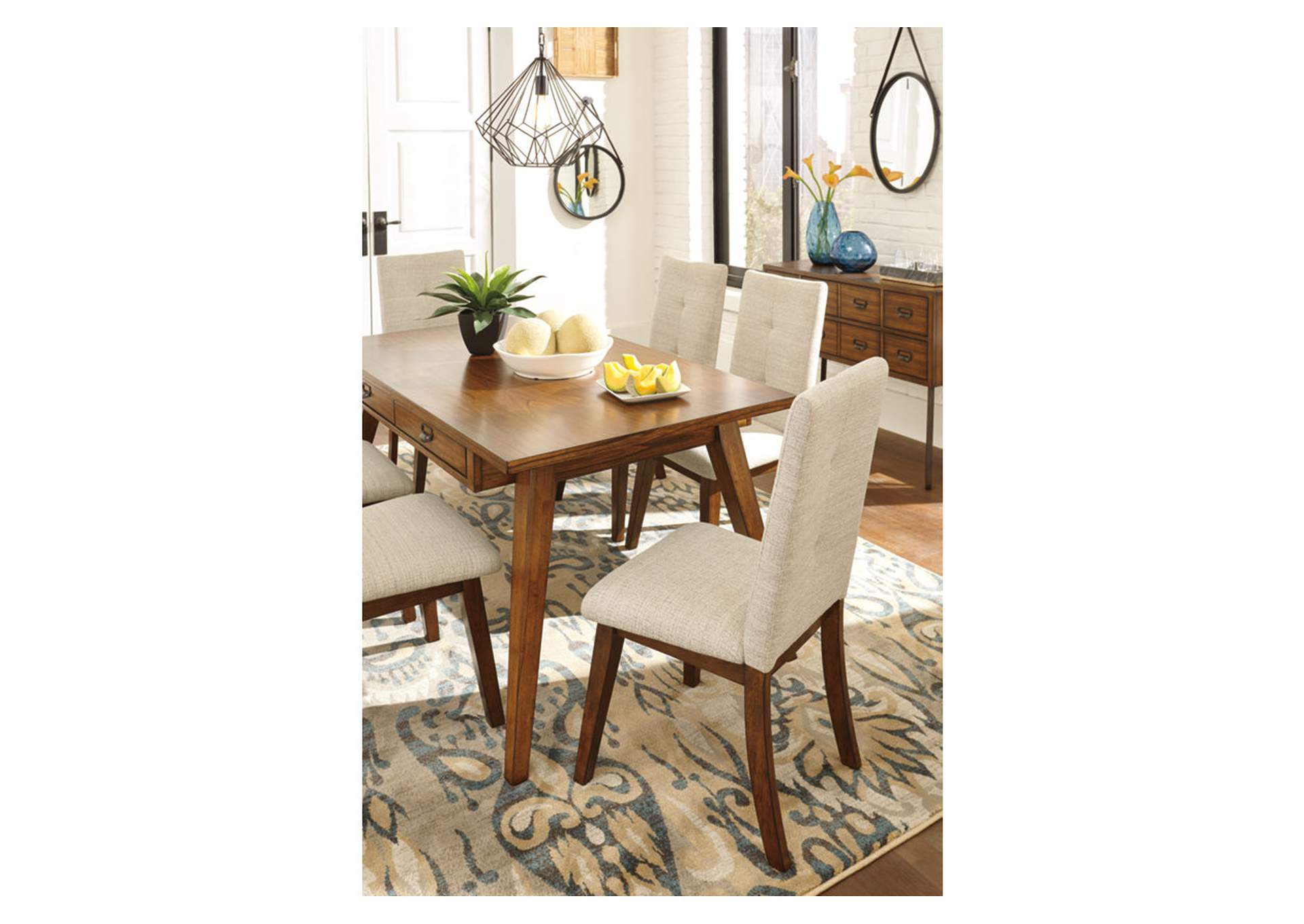 Centiar Two-Tone Brown Rectangular Dining Room Table,Direct To Consumer Express