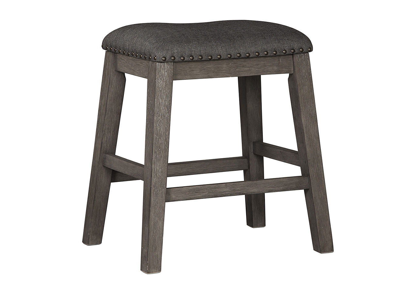 Caitbrook Counter Height Upholstered Bar Stool (Set of 2),Signature Design By Ashley