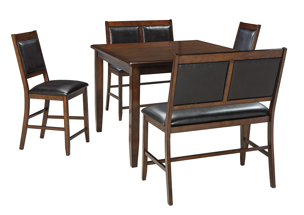 Meredy Brown Dining Room Counter Table Set,Signature Design By Ashley