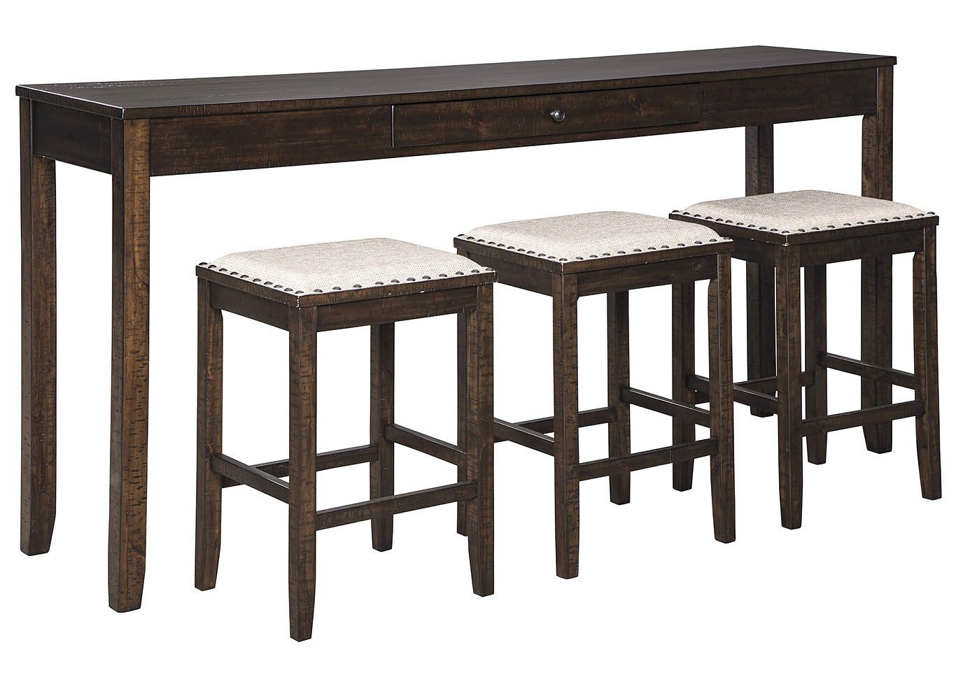 Rokane Counter Height Dining Room Table and Bar Stools (Set of 4),Signature Design By Ashley