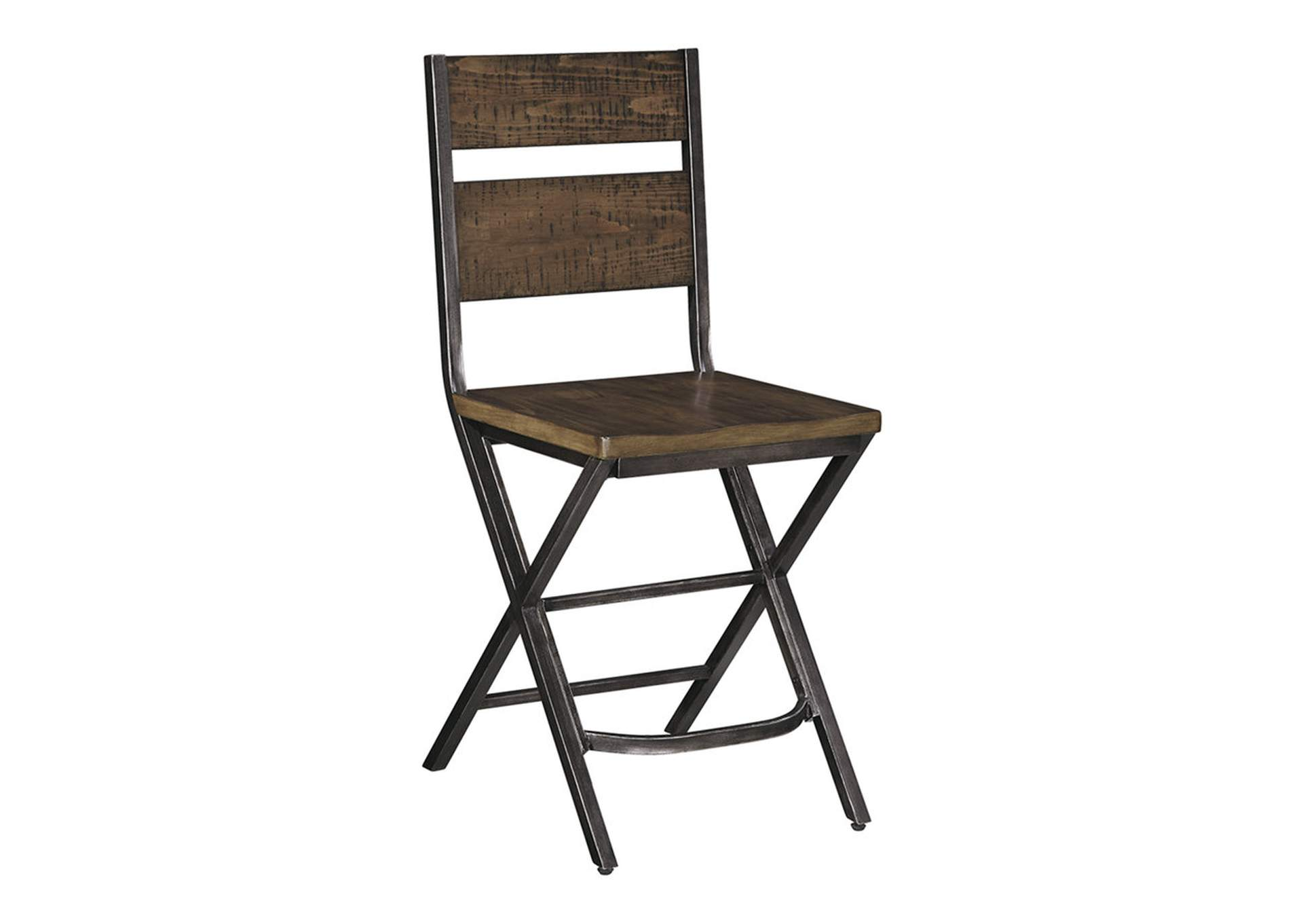 Kavara Medium Brown Barstool (Set of 2),Direct To Consumer Express