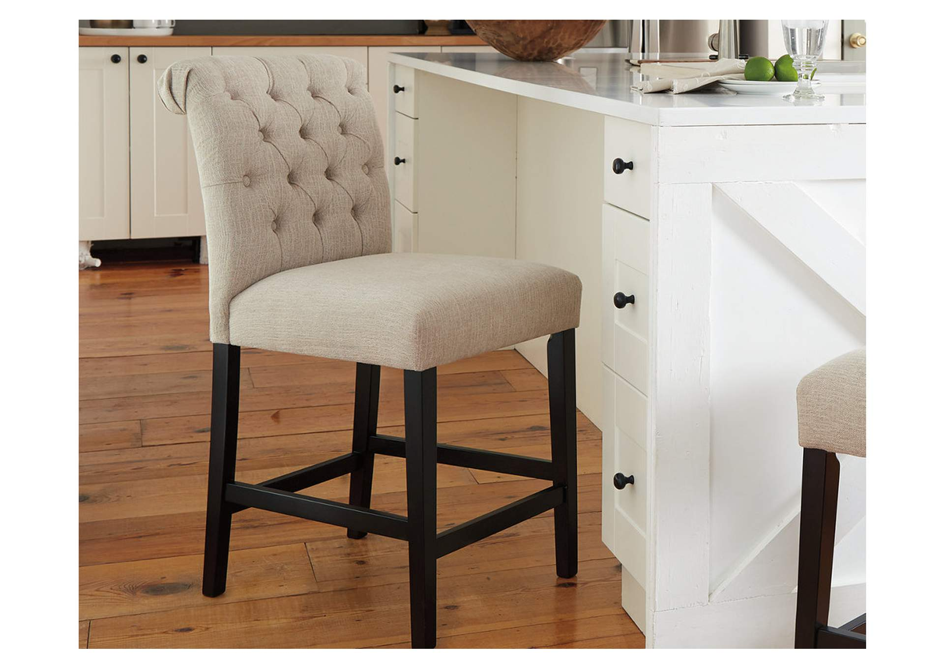 Tripton Counter Height Bar Stool (Set of 2),Signature Design By Ashley