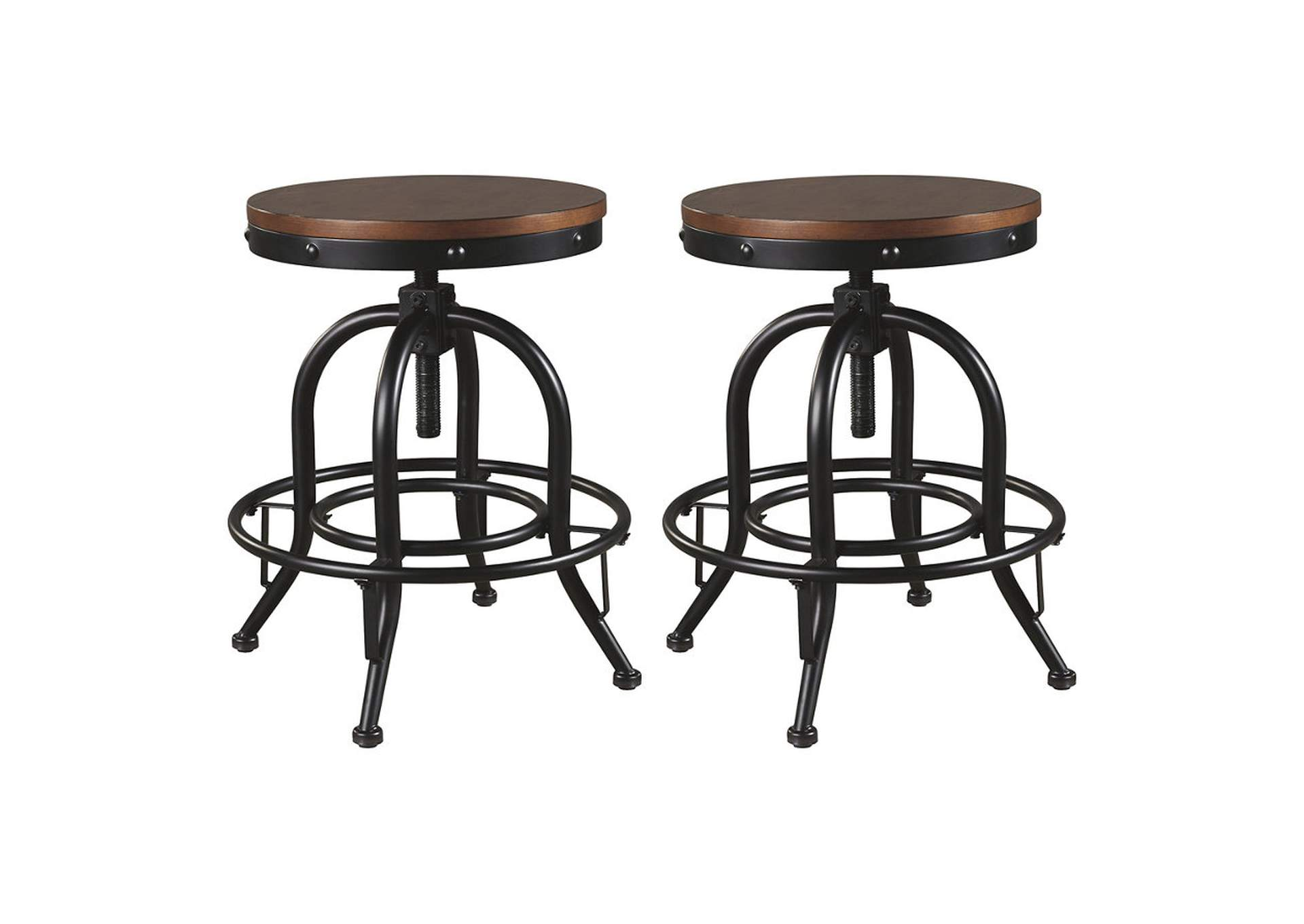 Valebeck Counter Height Bar Stool (Set of 2),Signature Design By Ashley