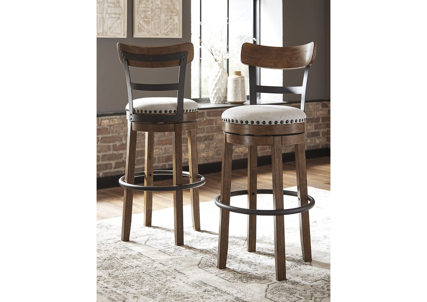 Valebeck Bar Height Bar Stool,Signature Design By Ashley