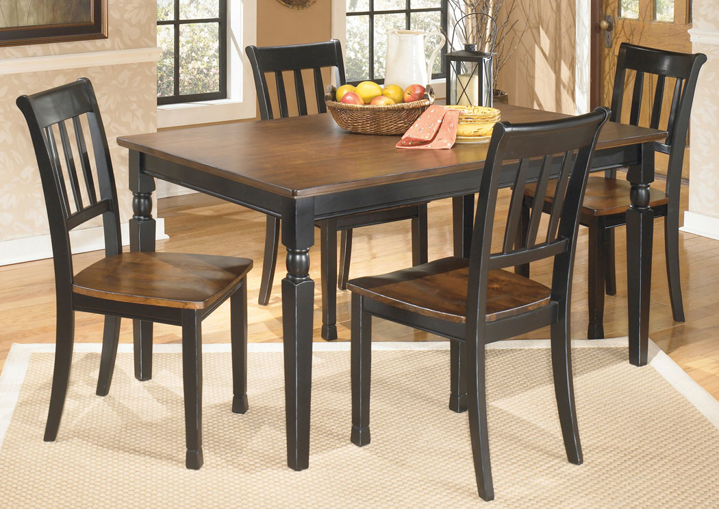 Owingsville Rectangular Dining Table w/ 4 Side Chairs,Direct To Consumer Express