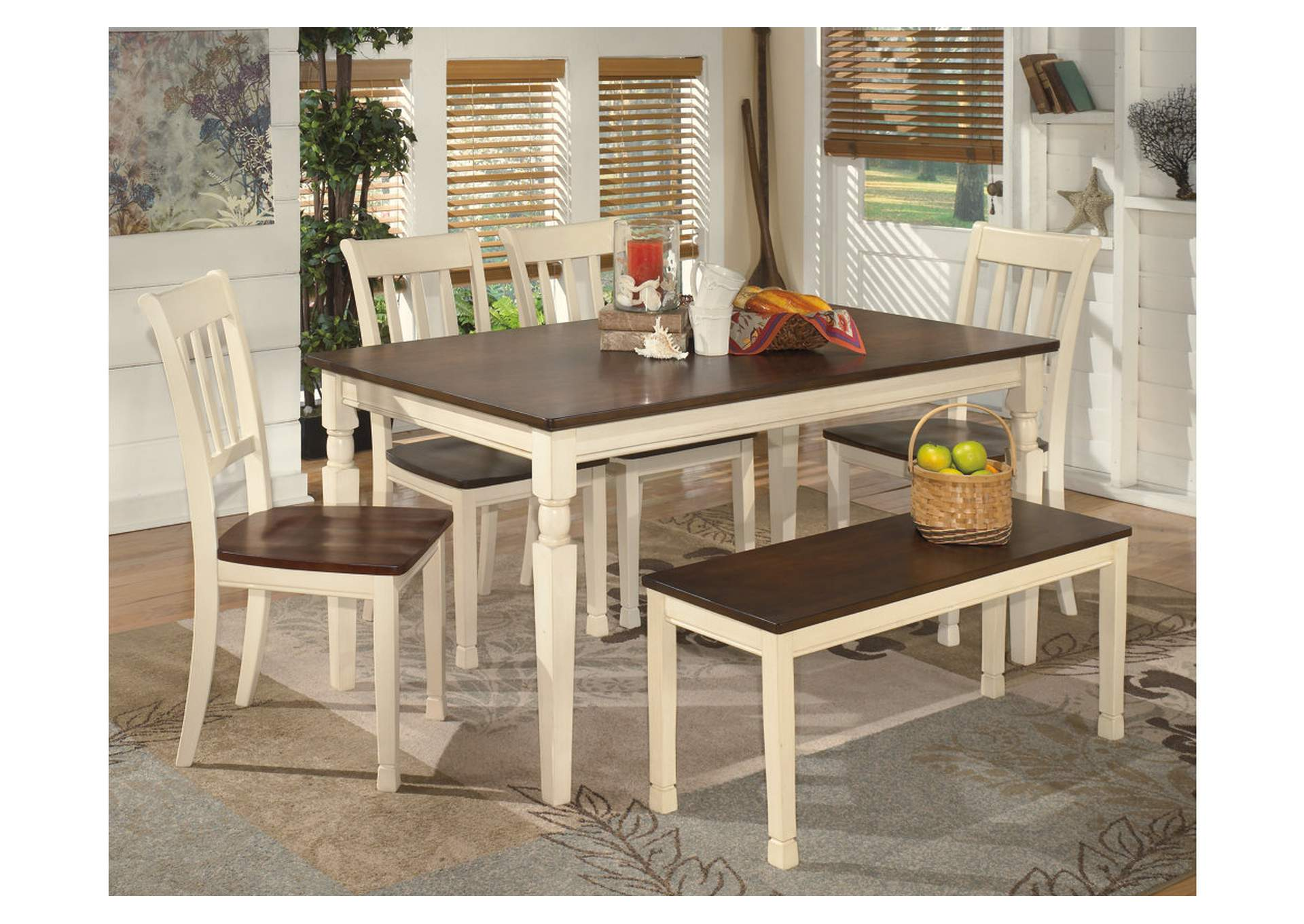 Whitesburg Large Dining Bench,Direct To Consumer Express