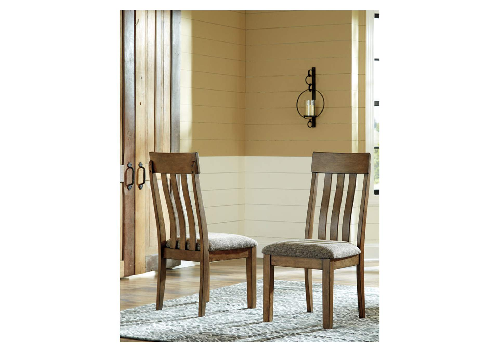 Flaybern Upholstered Dining Side Chair (Set of 2),Direct To Consumer Express