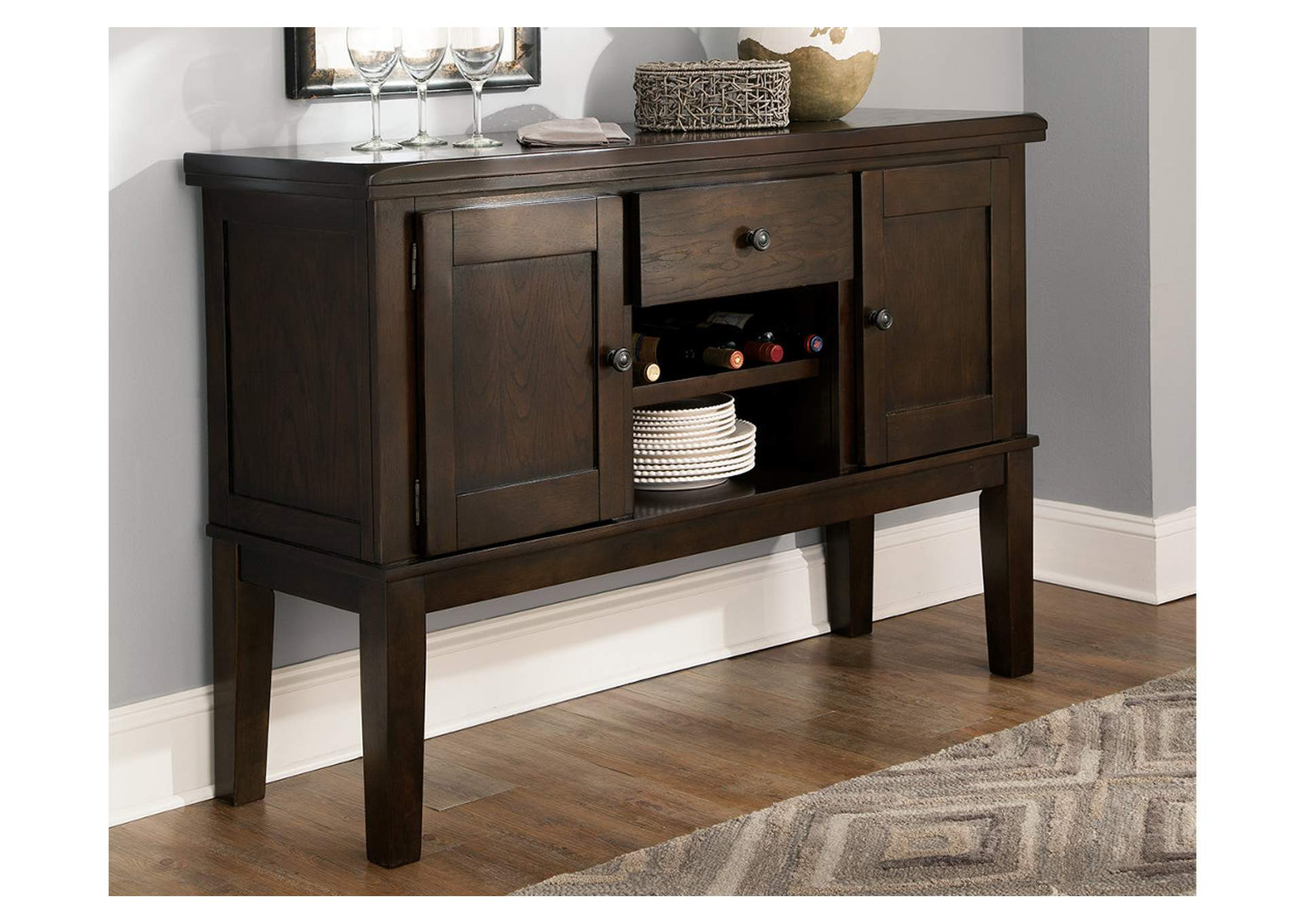 Haddigan Dining Room Server,Signature Design By Ashley