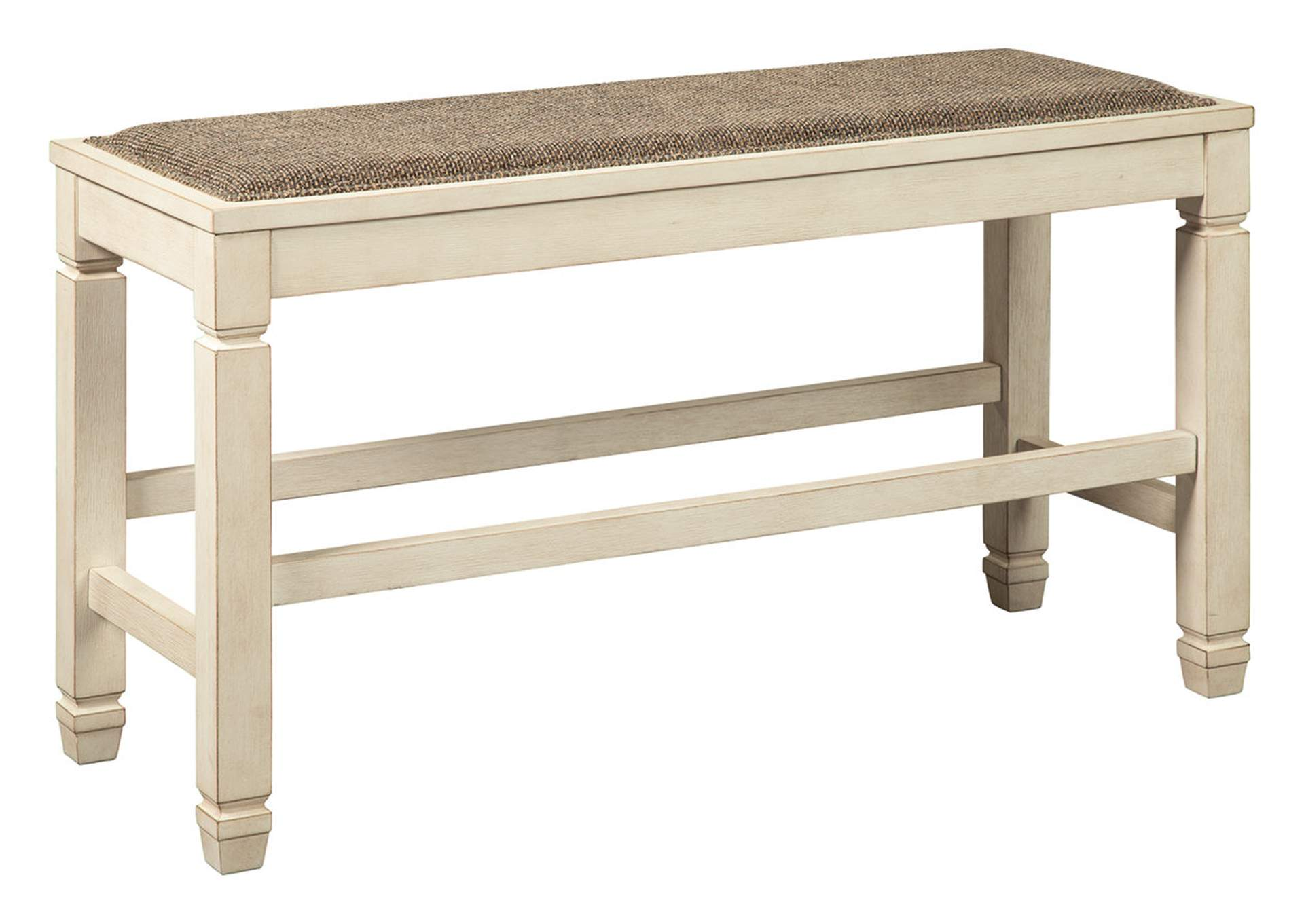 Bolanburg Two-Tone Counter Height Dining Bench,Signature Design By Ashley