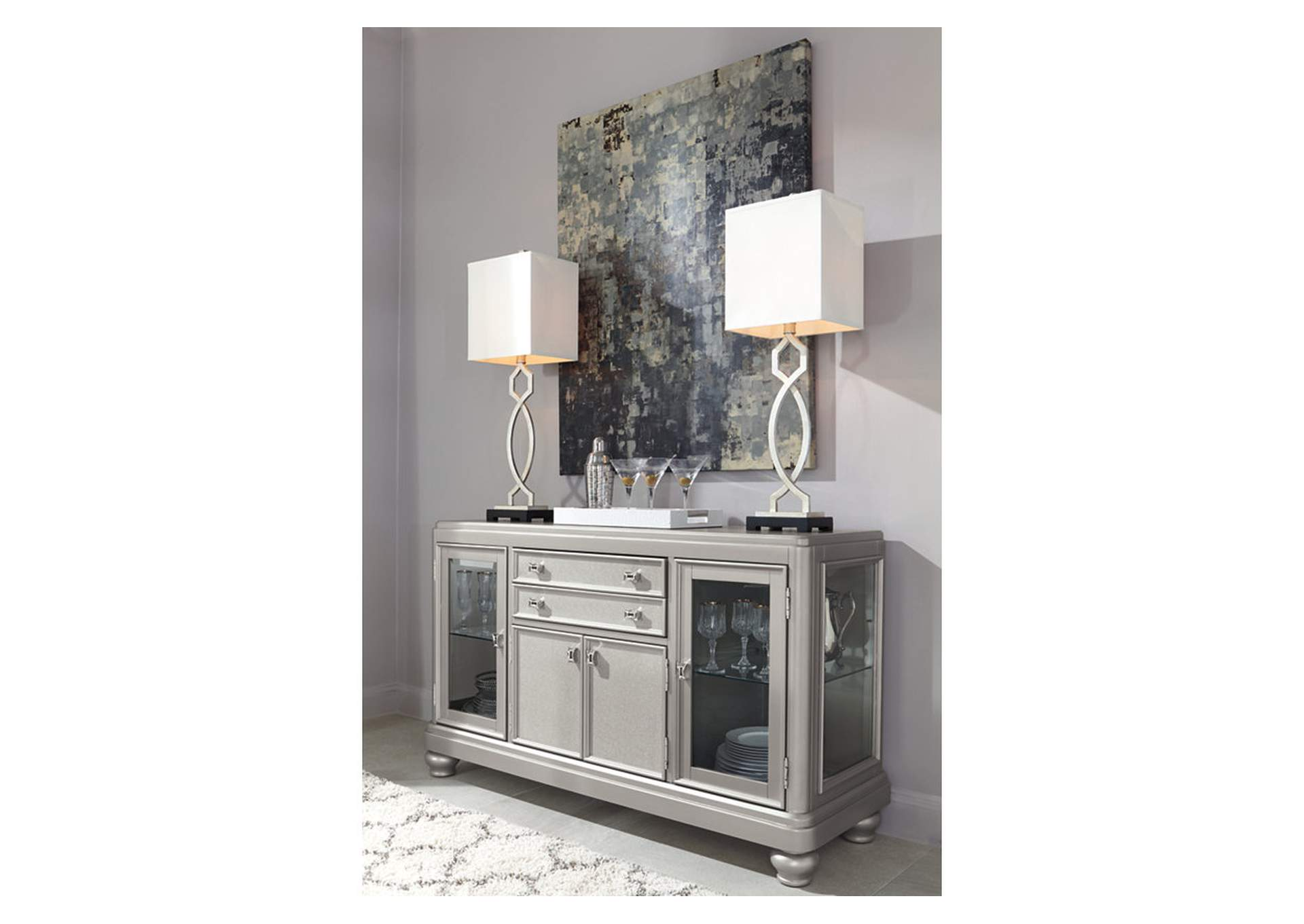 Coralayne Dining Room Server,Signature Design By Ashley