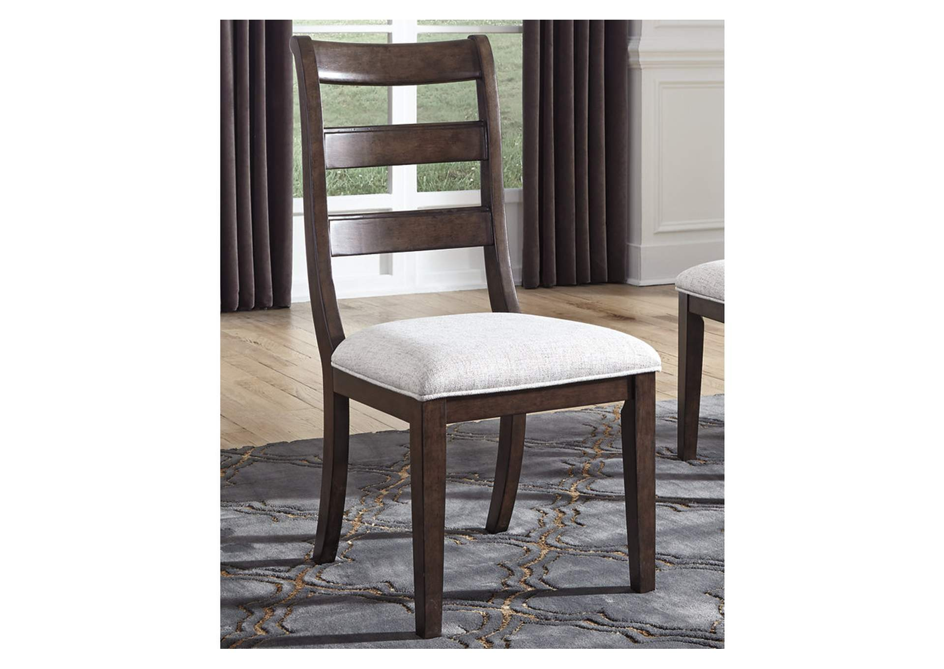 Adinton Reddish Brown Dining Chair (Set of 2),Signature Design By Ashley