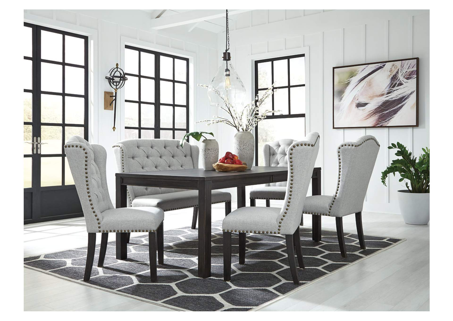 Jeanette 6-Piece Dining Room Set,Ashley