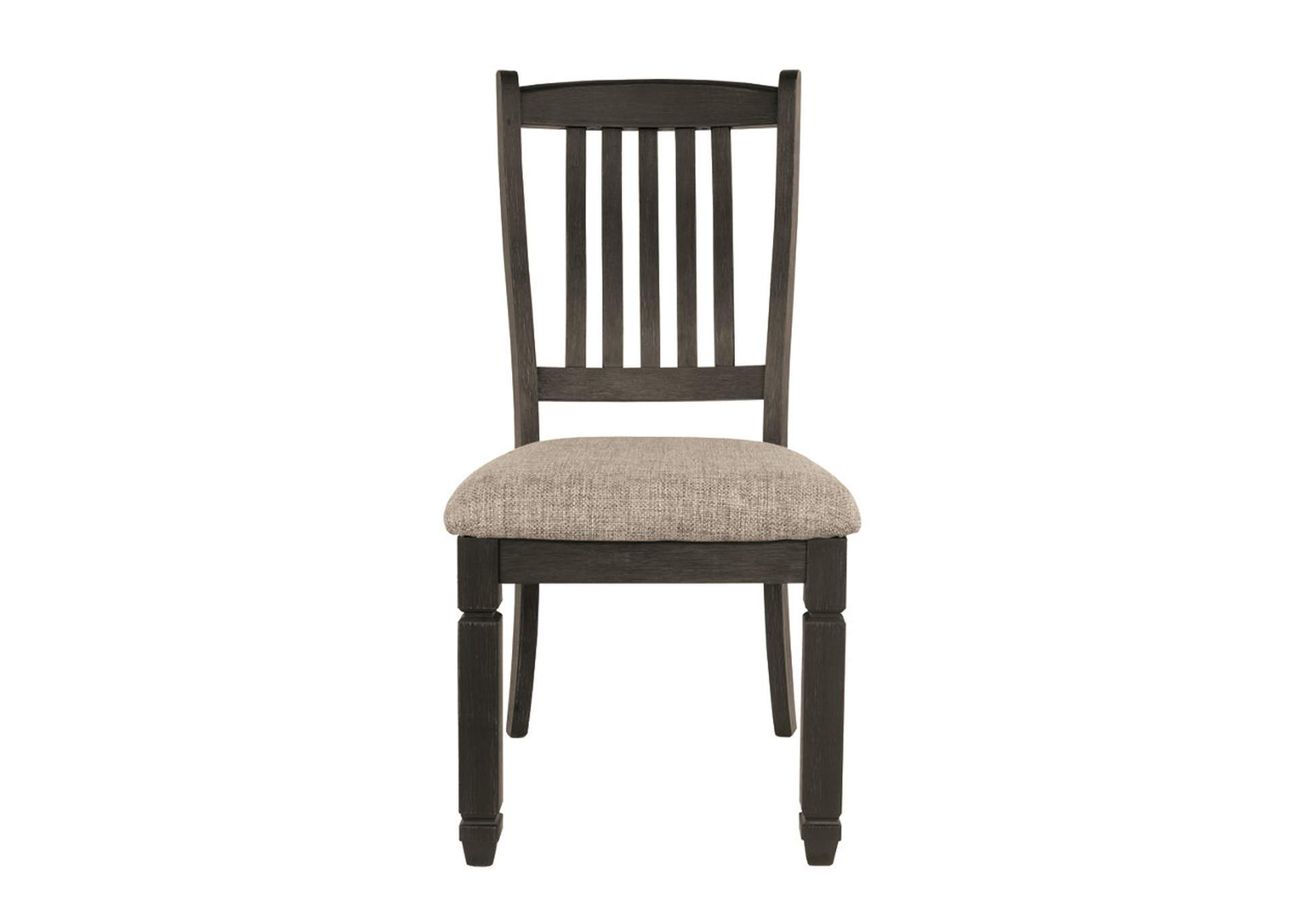 Tyler Creek Black/Grayish Brown Dining Upholstered Side Chair (Set of 2),Direct To Consumer Express