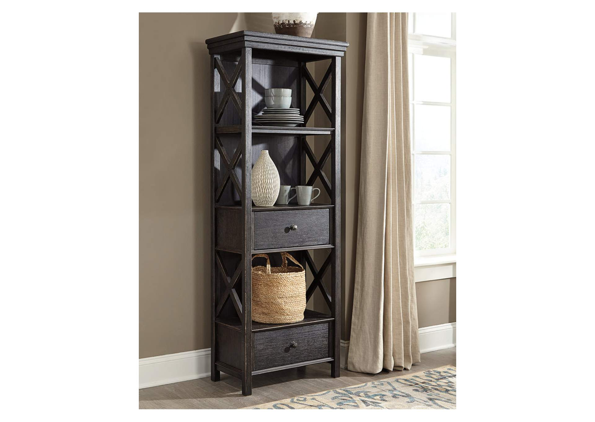 Tyler Creek Display Cabinet,Signature Design By Ashley