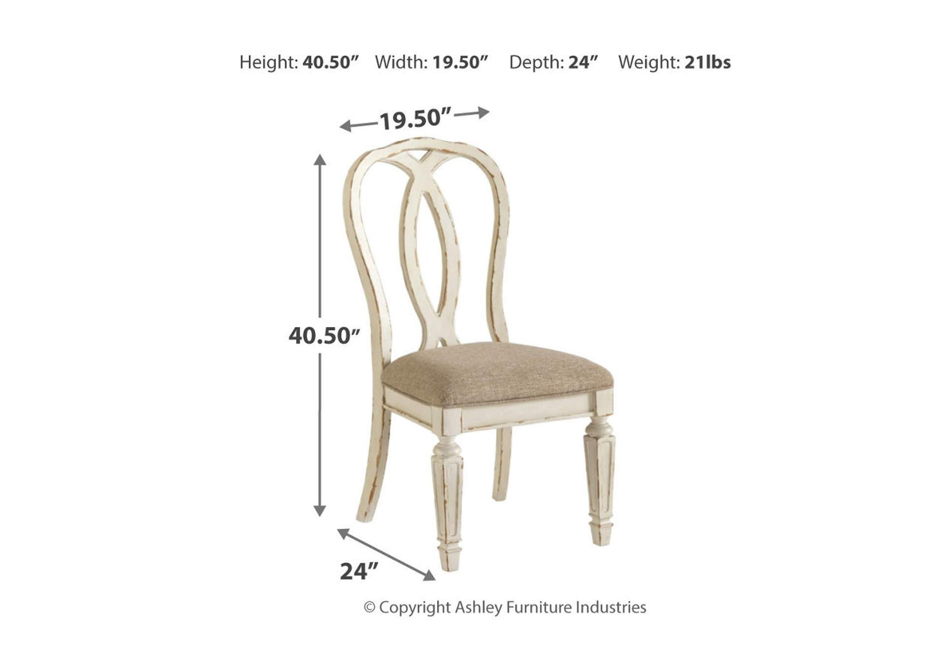 Realyn Dining Chair (Set of 2),Signature Design By Ashley