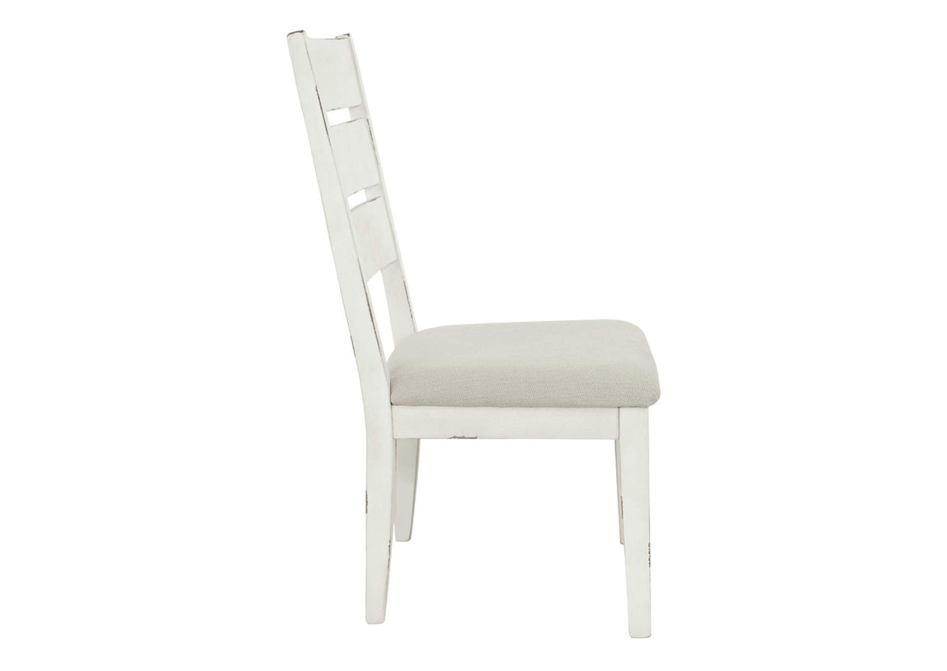 Grindleburg Antique White Dining Upholstered Side Chair (Set of 2),Direct To Consumer Express