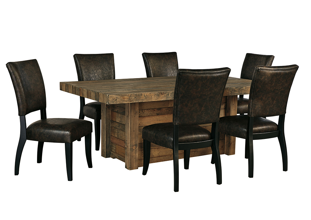 Sommerford Dining Table And 6 Chairs Best Buy Furniture And Mattress