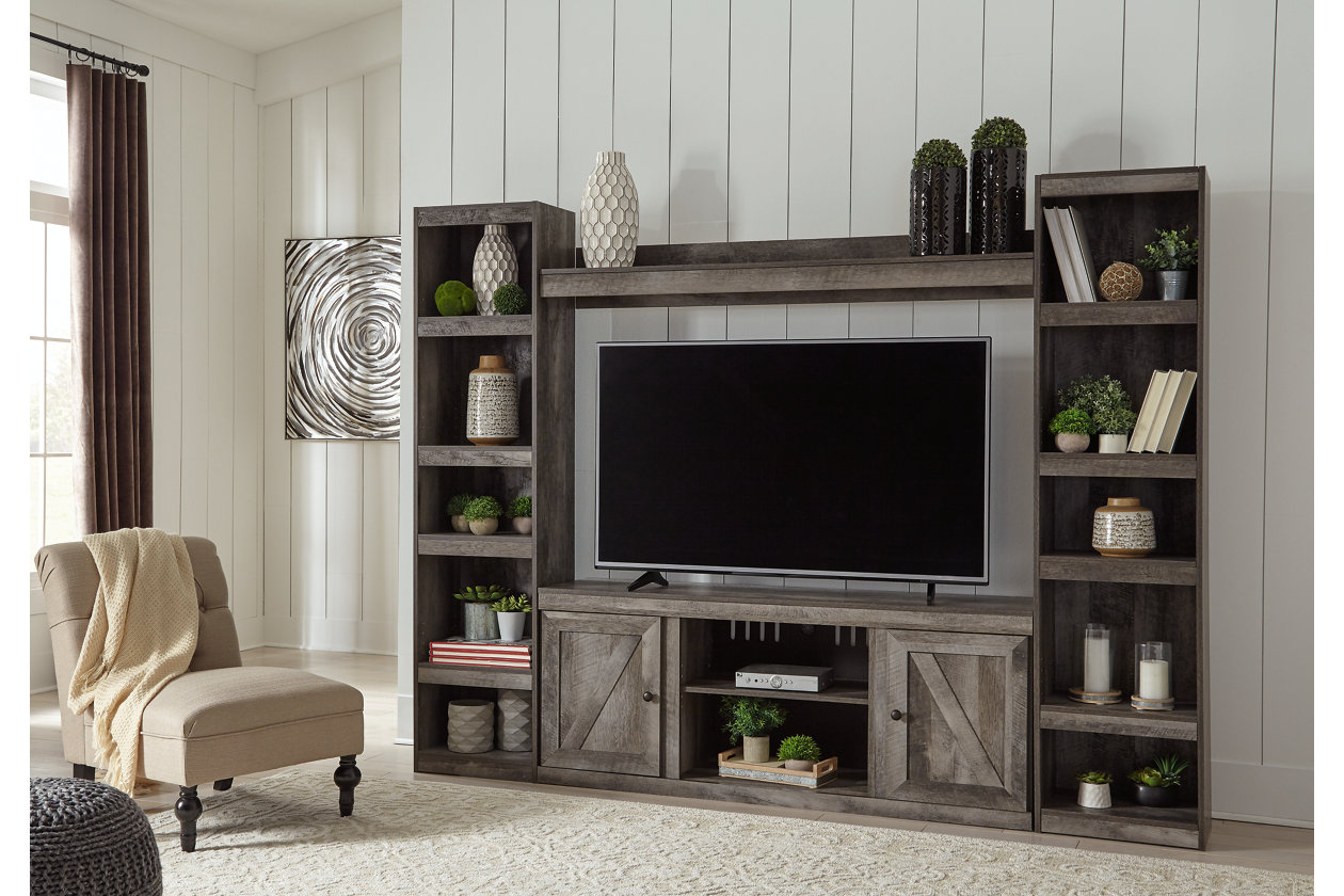 Wynnlow Gray Entertainment Center,Signature Design By Ashley