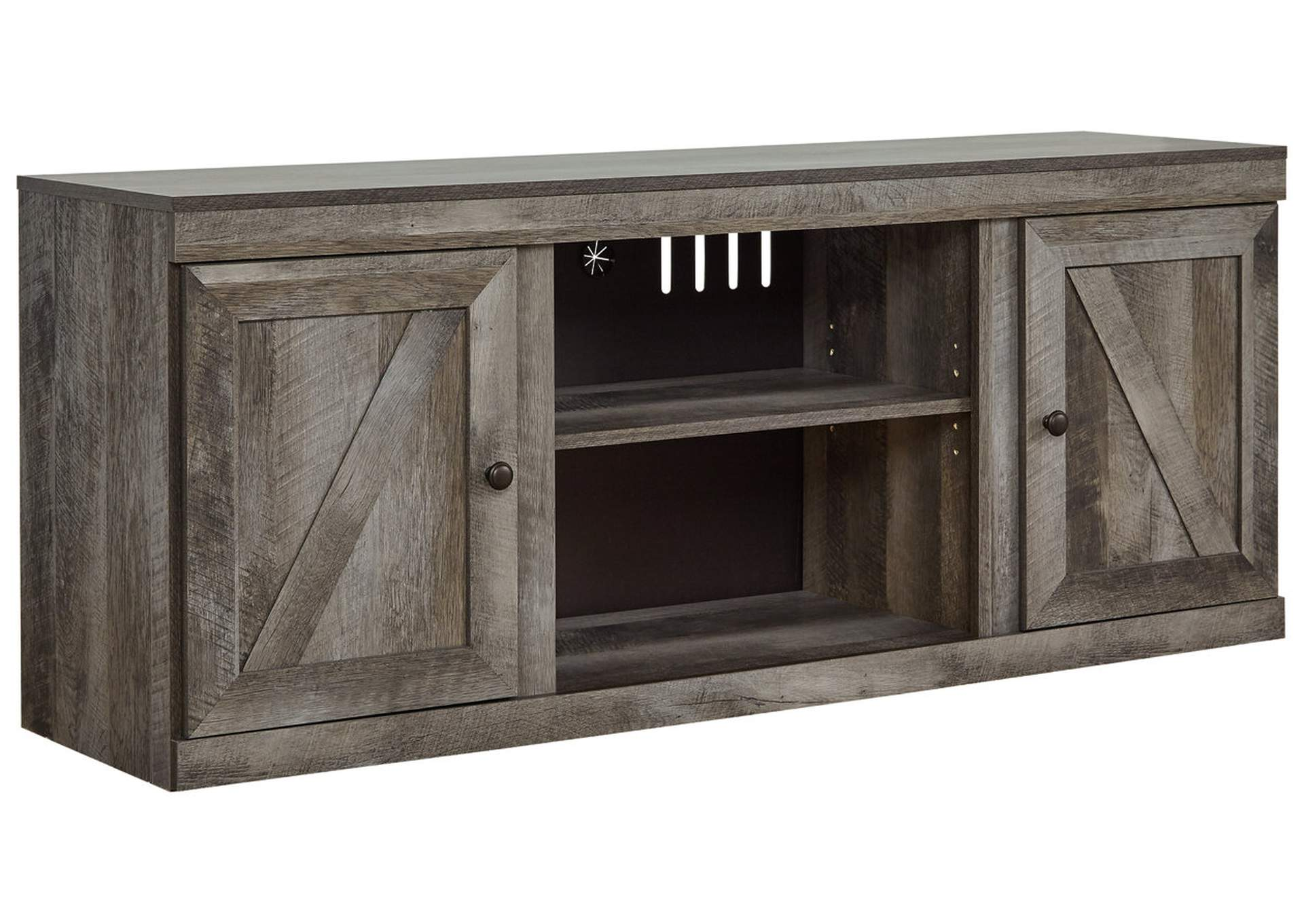 "Wynnlow Gray 63"" TV Stand,Signature Design By Ashley"