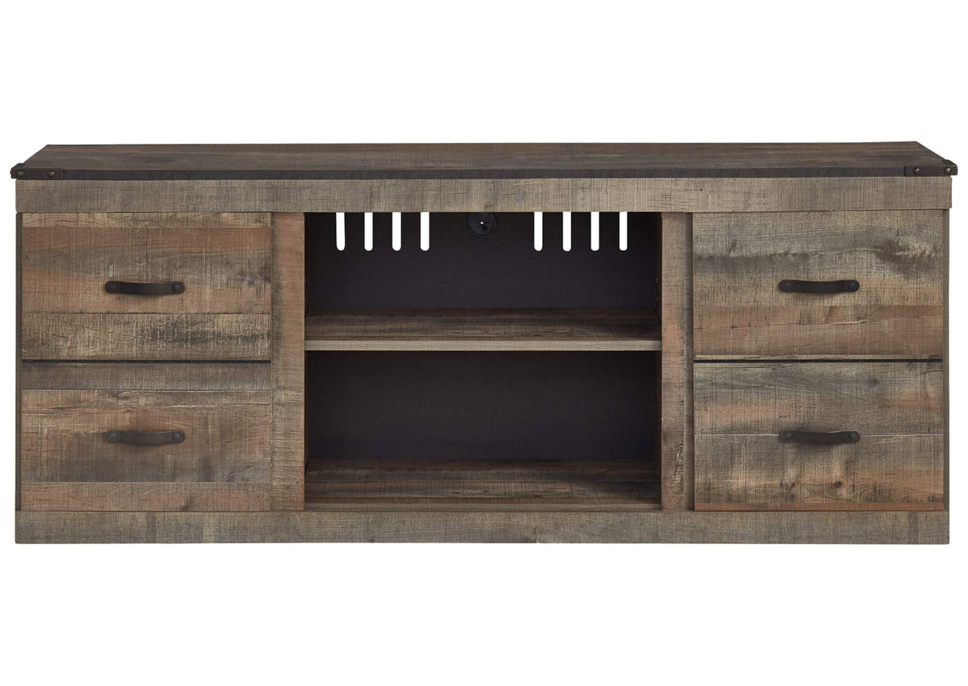 "Trinell Brown 63"" TV Stand,Signature Design By Ashley"