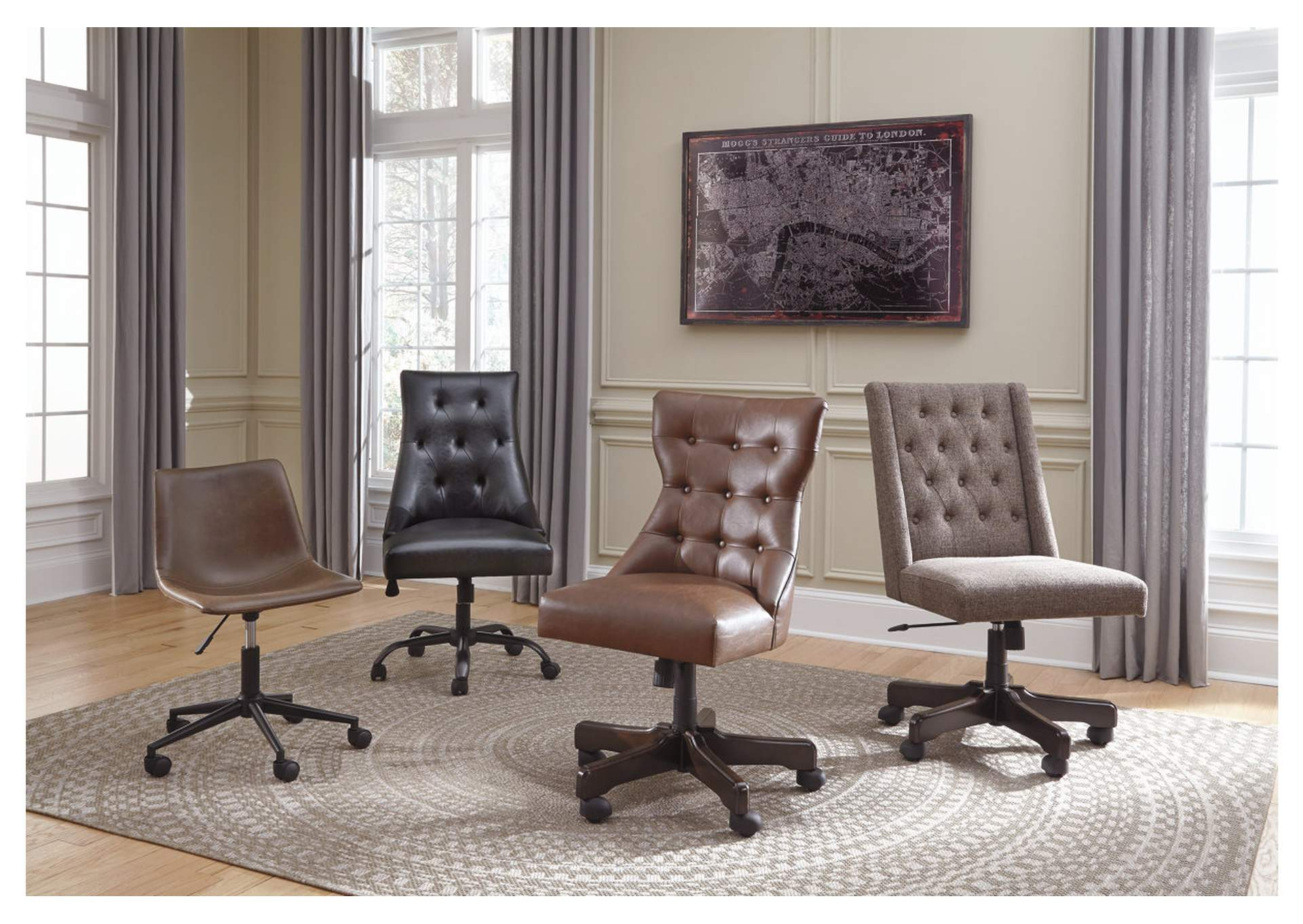 Office Chair Program Brown Home Office Swivel Desk Chair,Direct To Consumer Express