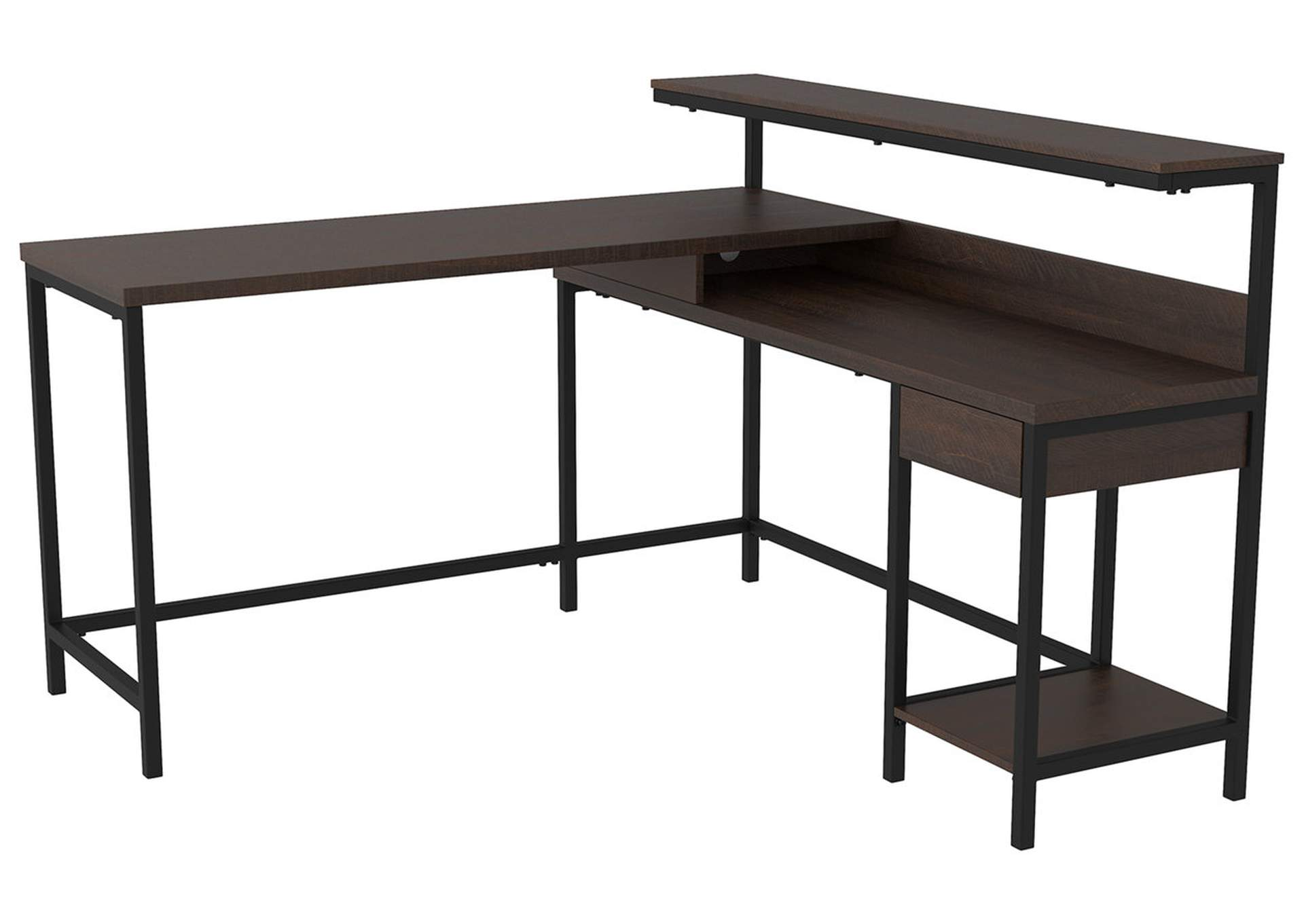 Camiburg Warm Brown Home Office Desk,Signature Design By Ashley