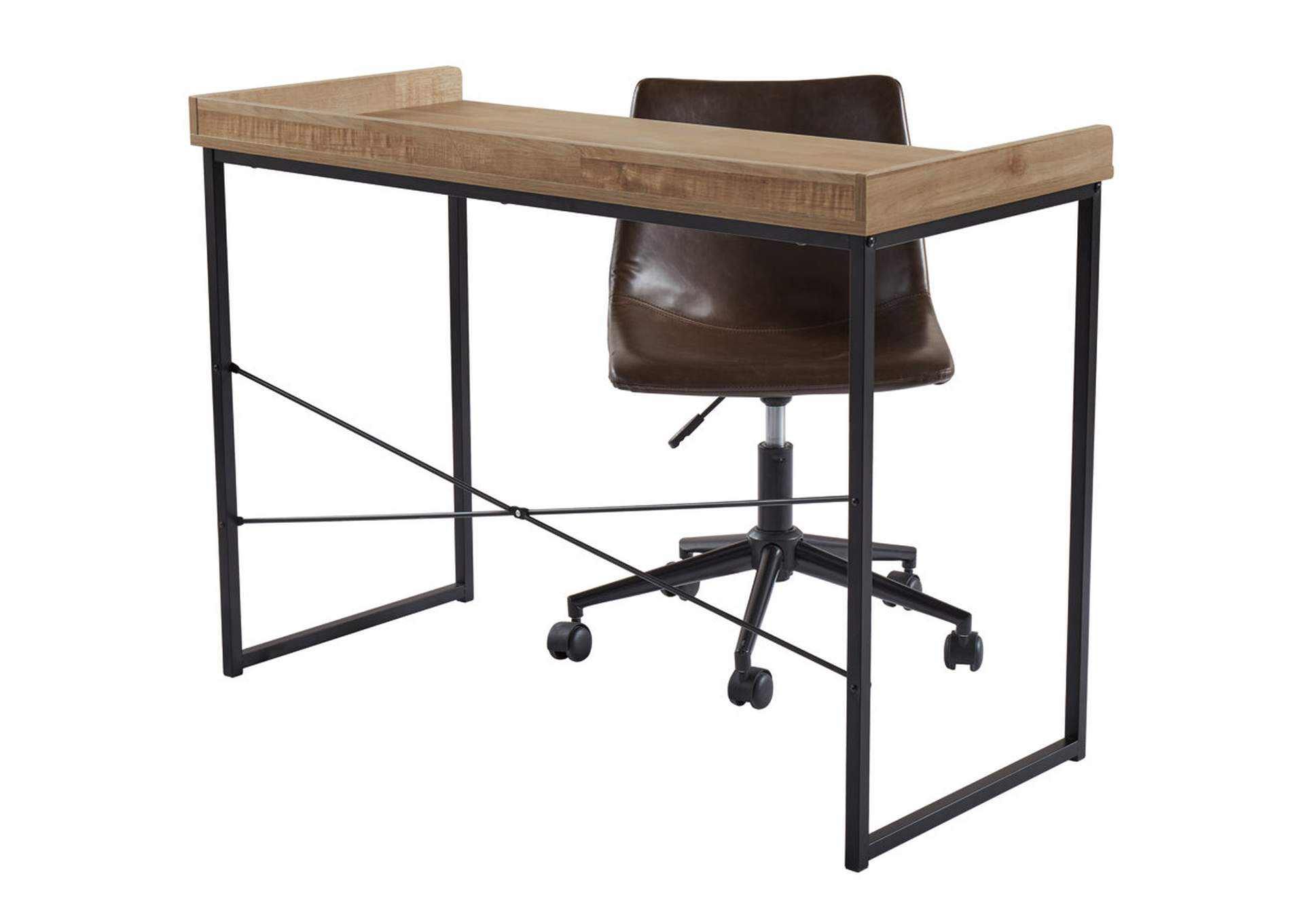 "Gerdanet Brown 43"" Home Office Desk,Signature Design By Ashley"