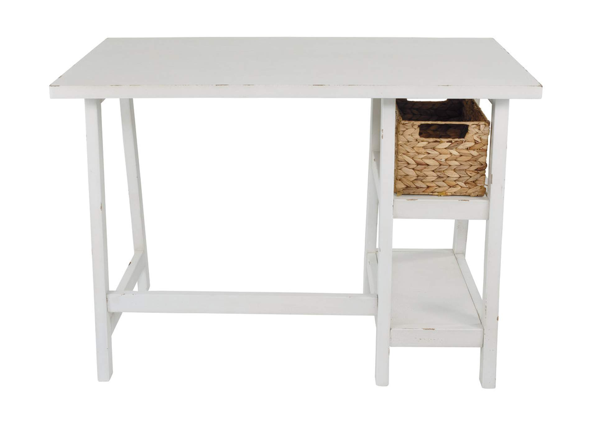 Mirimyn Antique White Home Office Small Desk,Direct To Consumer Express