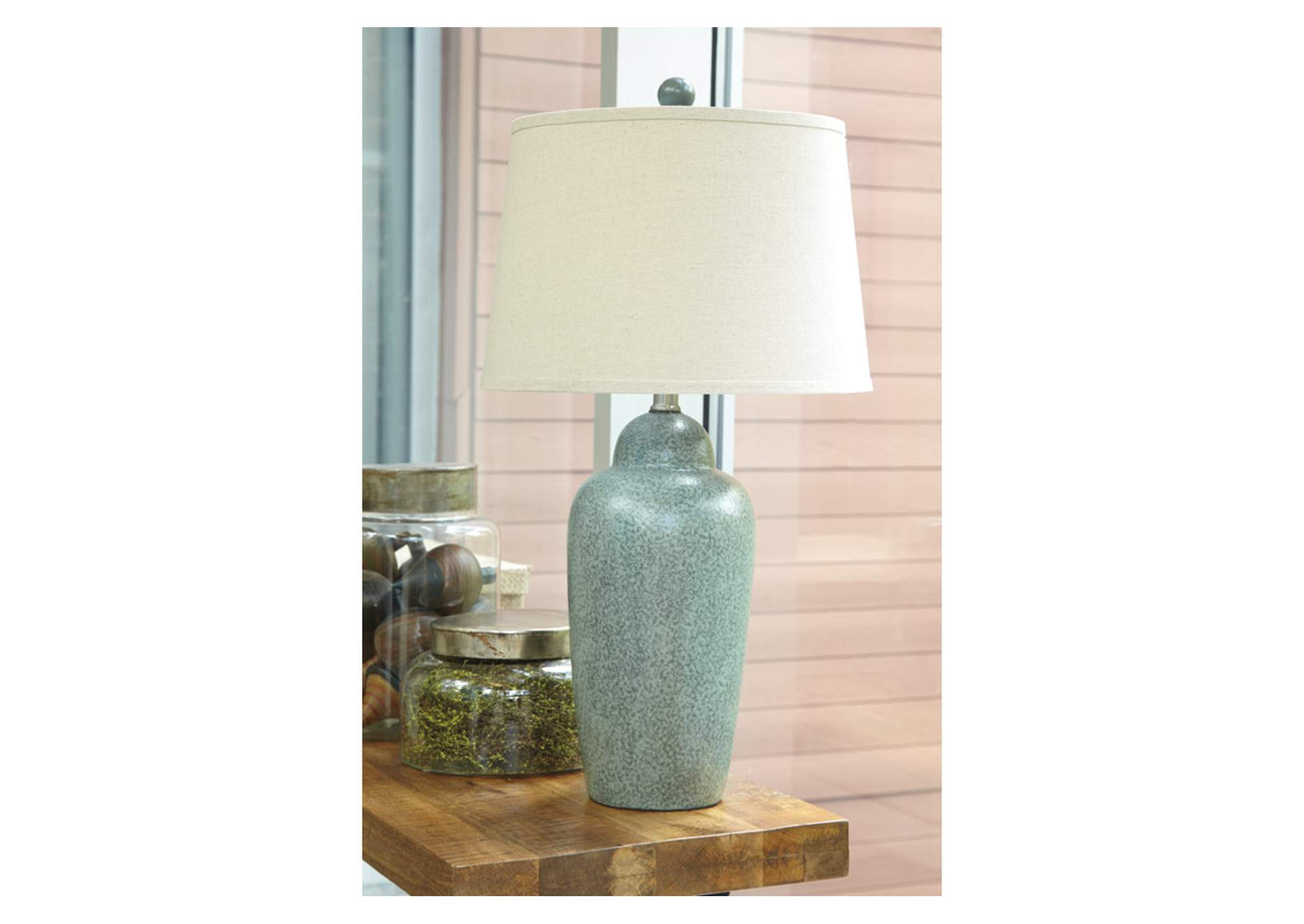 Green Ceramic Table Lamp,Direct To Consumer Express