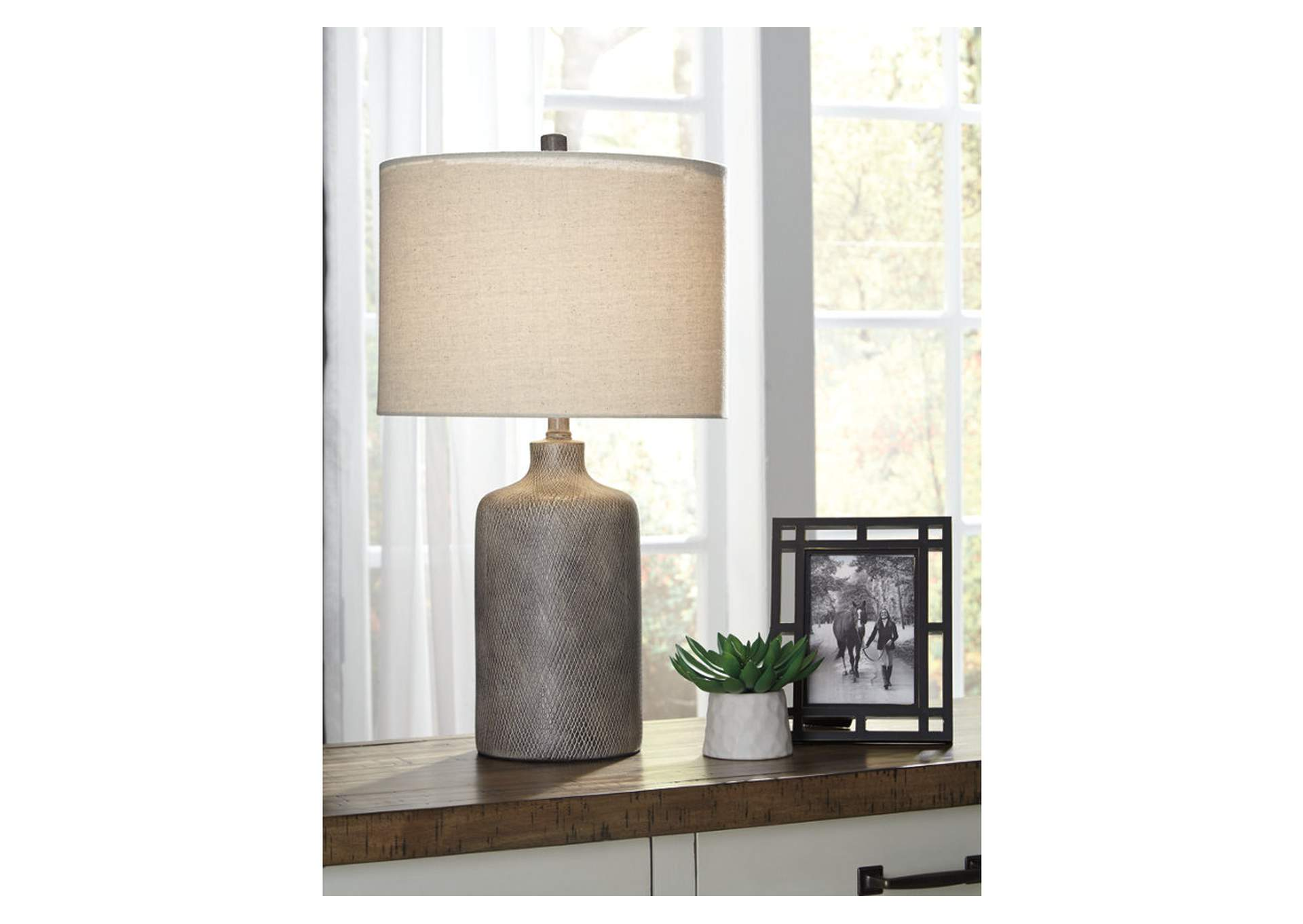 Linus Antique Black Ceramic Table Lamp,Direct To Consumer Express