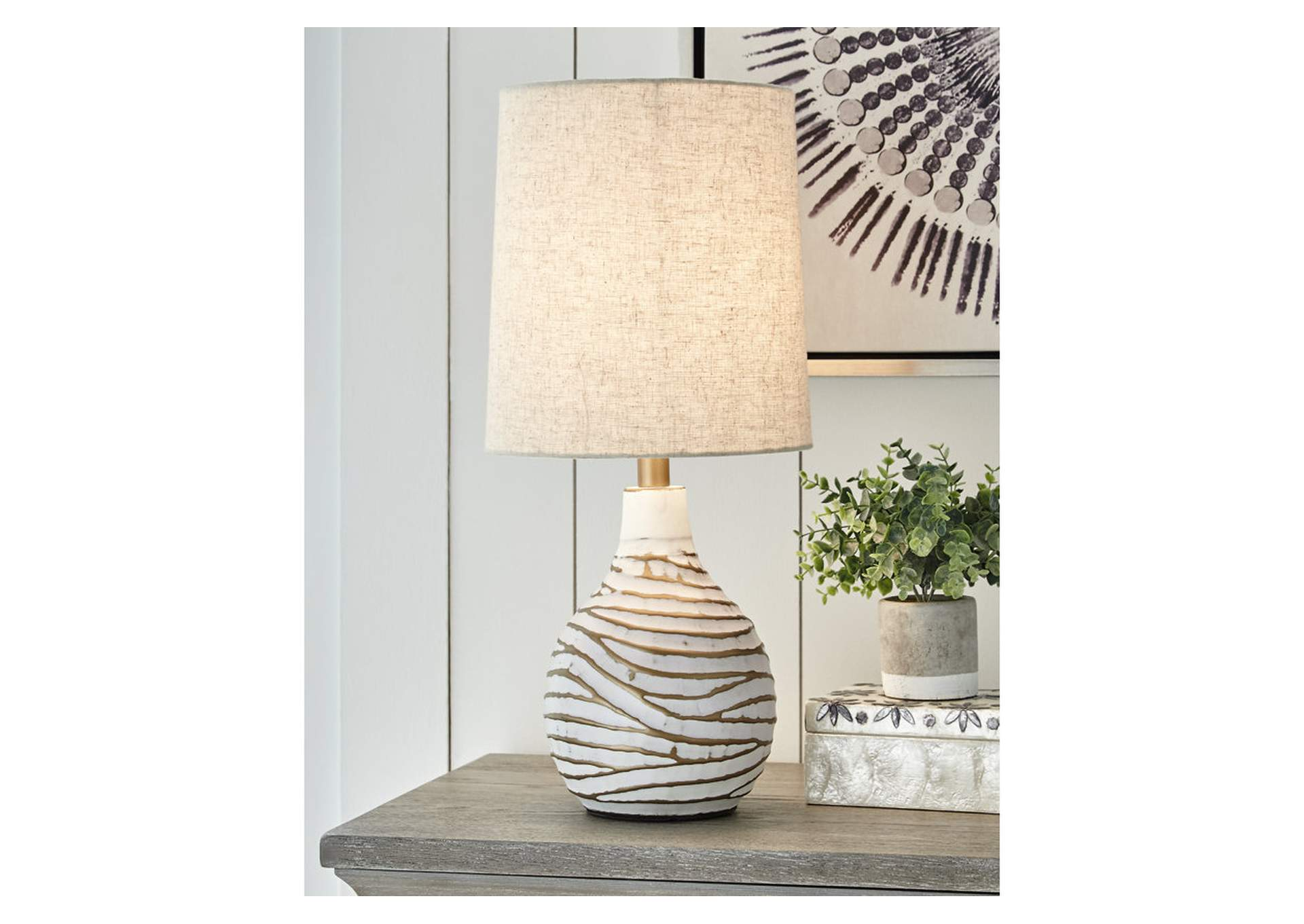 Aleela Table Lamp,Signature Design By Ashley