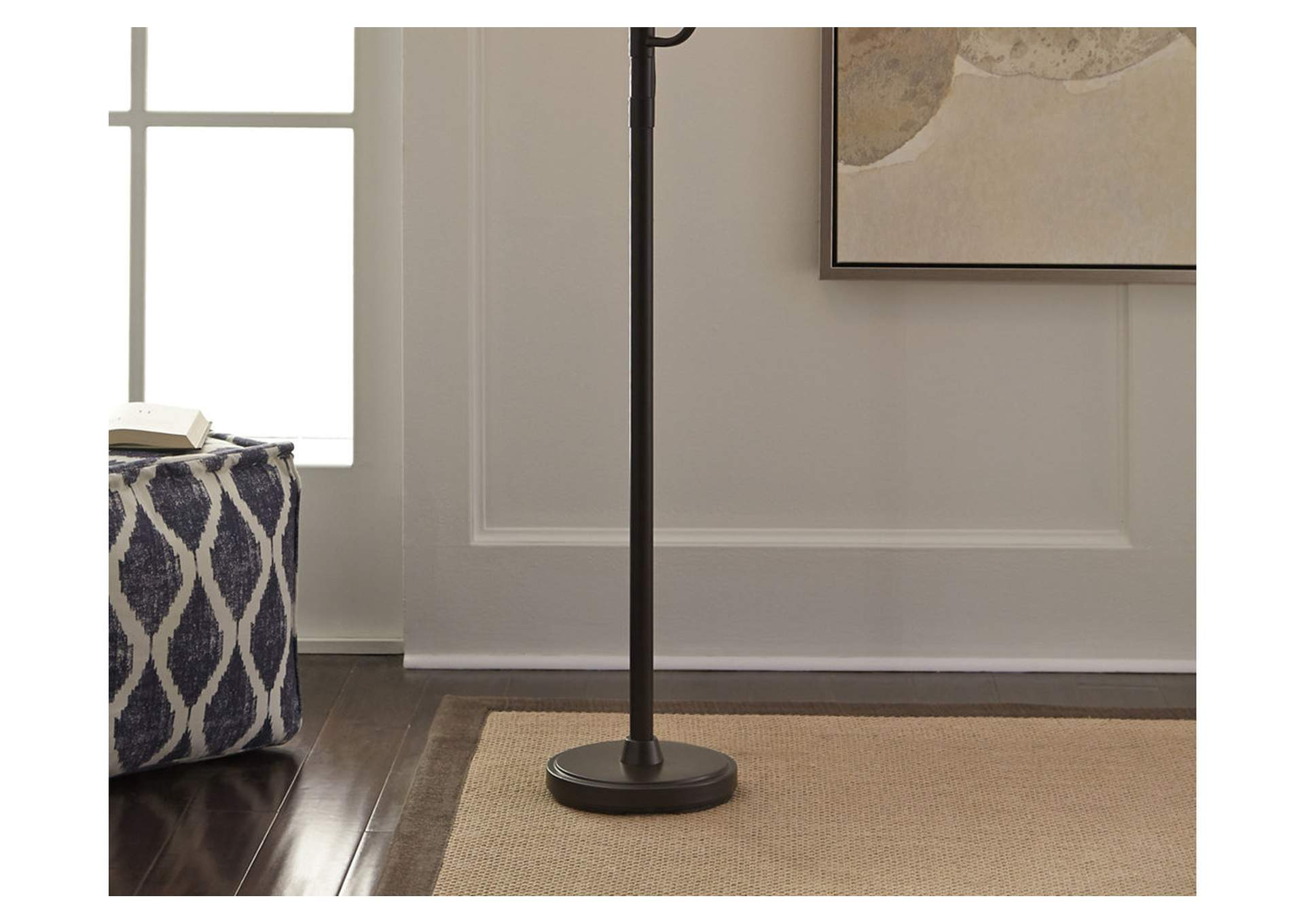 Jaak Bronze Finish Metal Floor Lamp,Direct To Consumer Express