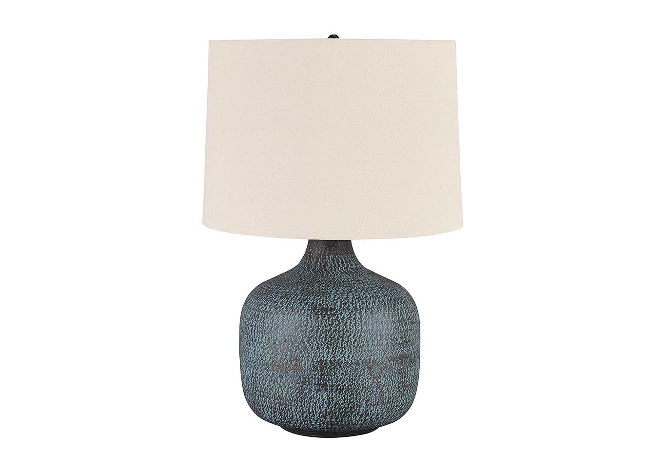 Malthace Patina Metal Table Lamp,Signature Design By Ashley