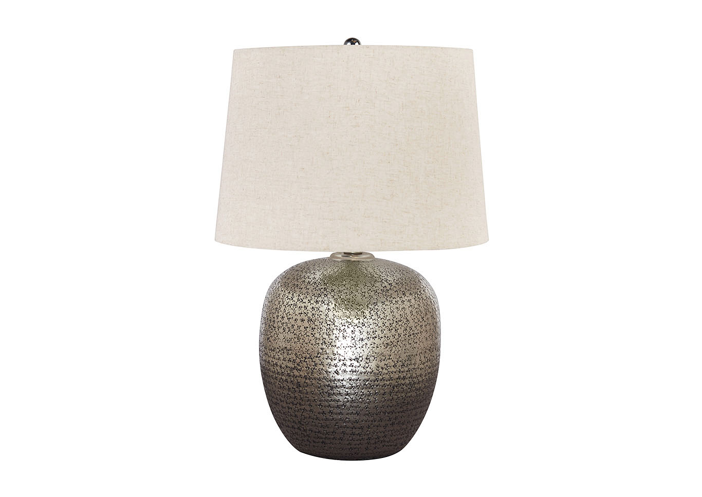 Magalie Silver Table Lamp,Signature Design By Ashley
