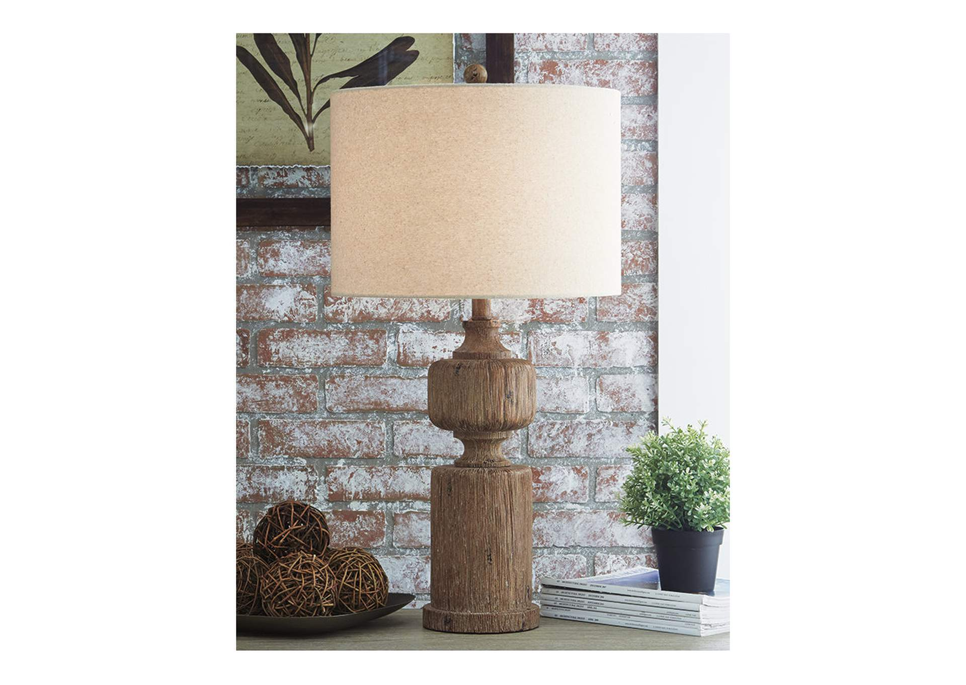 Madelief Brown Poly Table Lamp,Direct To Consumer Express