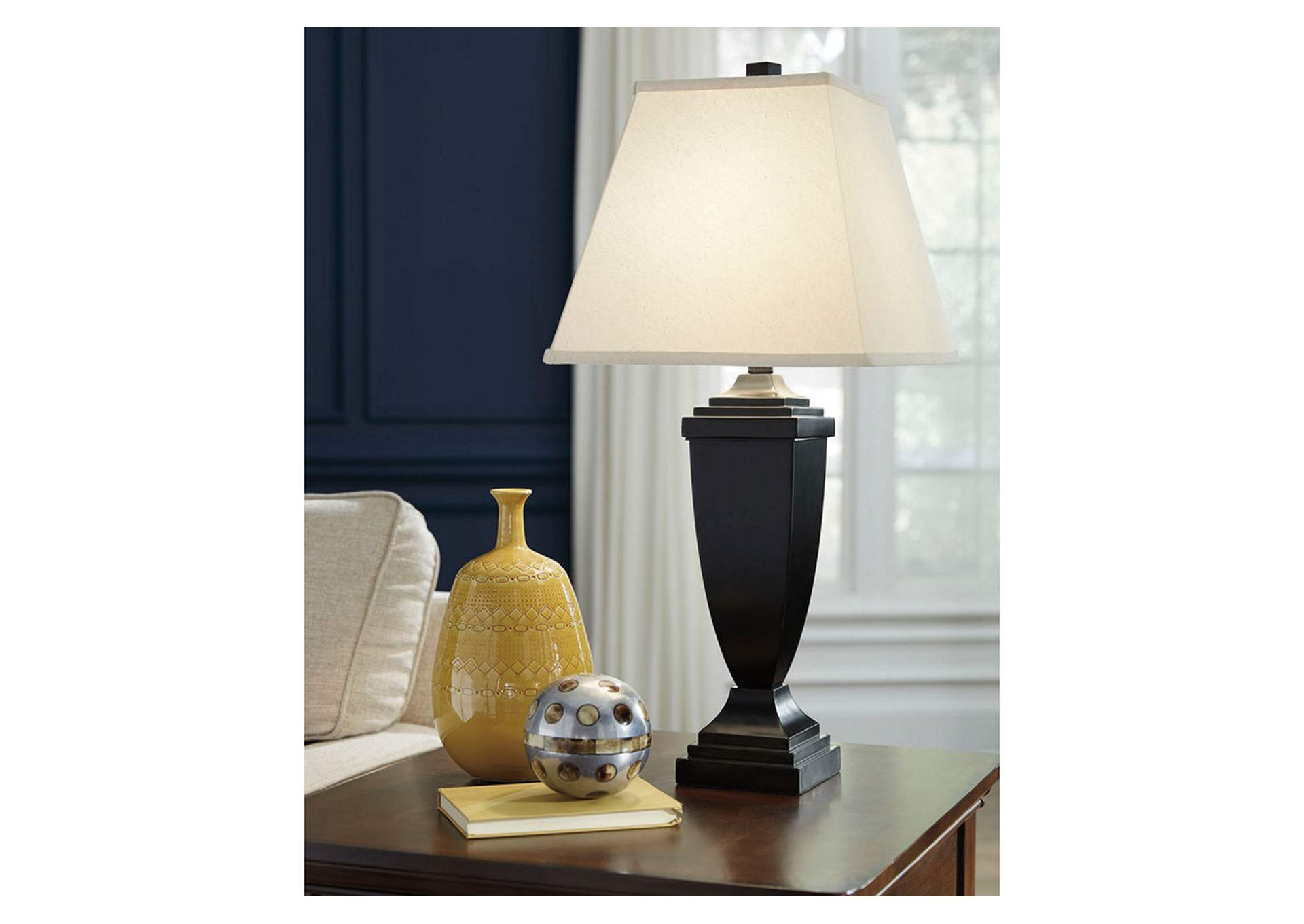 Amerigin Bronze Finish Poly Table Lamp (Set of 2),Direct To Consumer Express