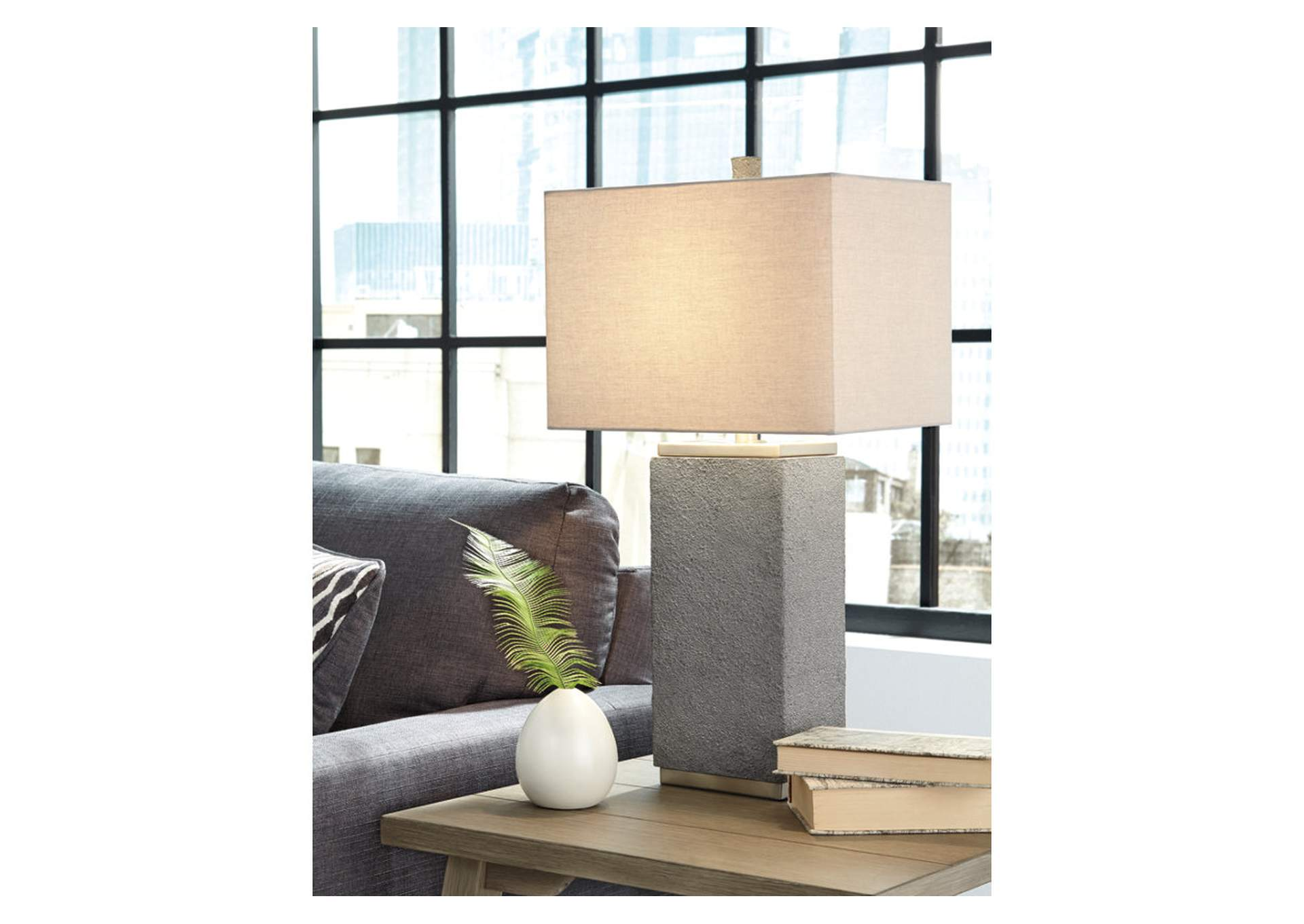 Amergin Grain Poly Table Lamp (Set of 2),Direct To Consumer Express