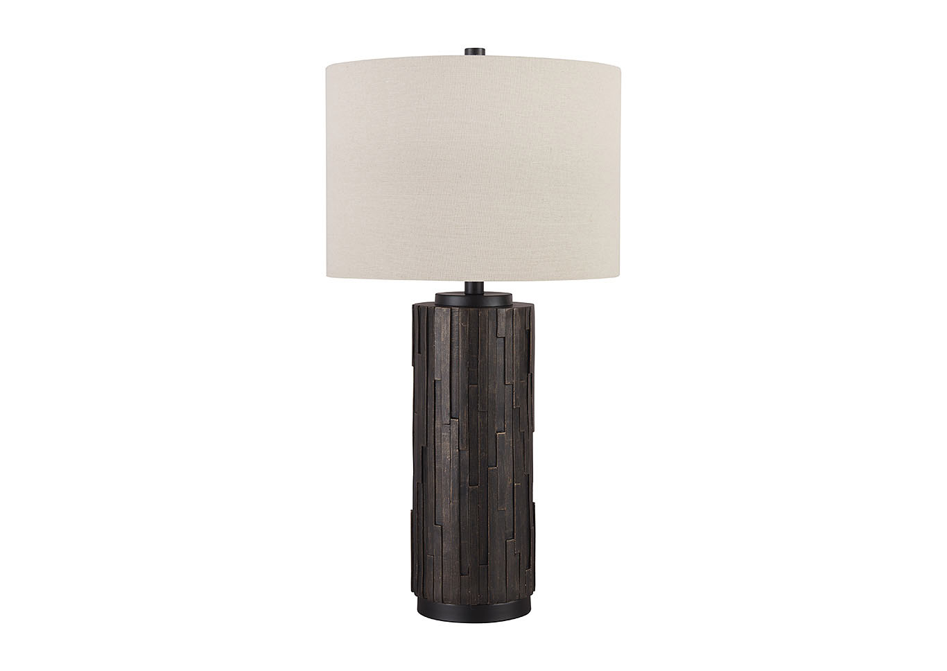 Makya Black Poly Table Lamp (Set of 2),Signature Design By Ashley