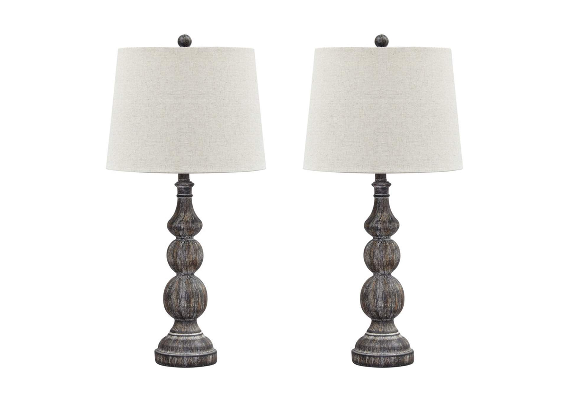 Poly Table Lamp (Set of 2),Direct To Consumer Express