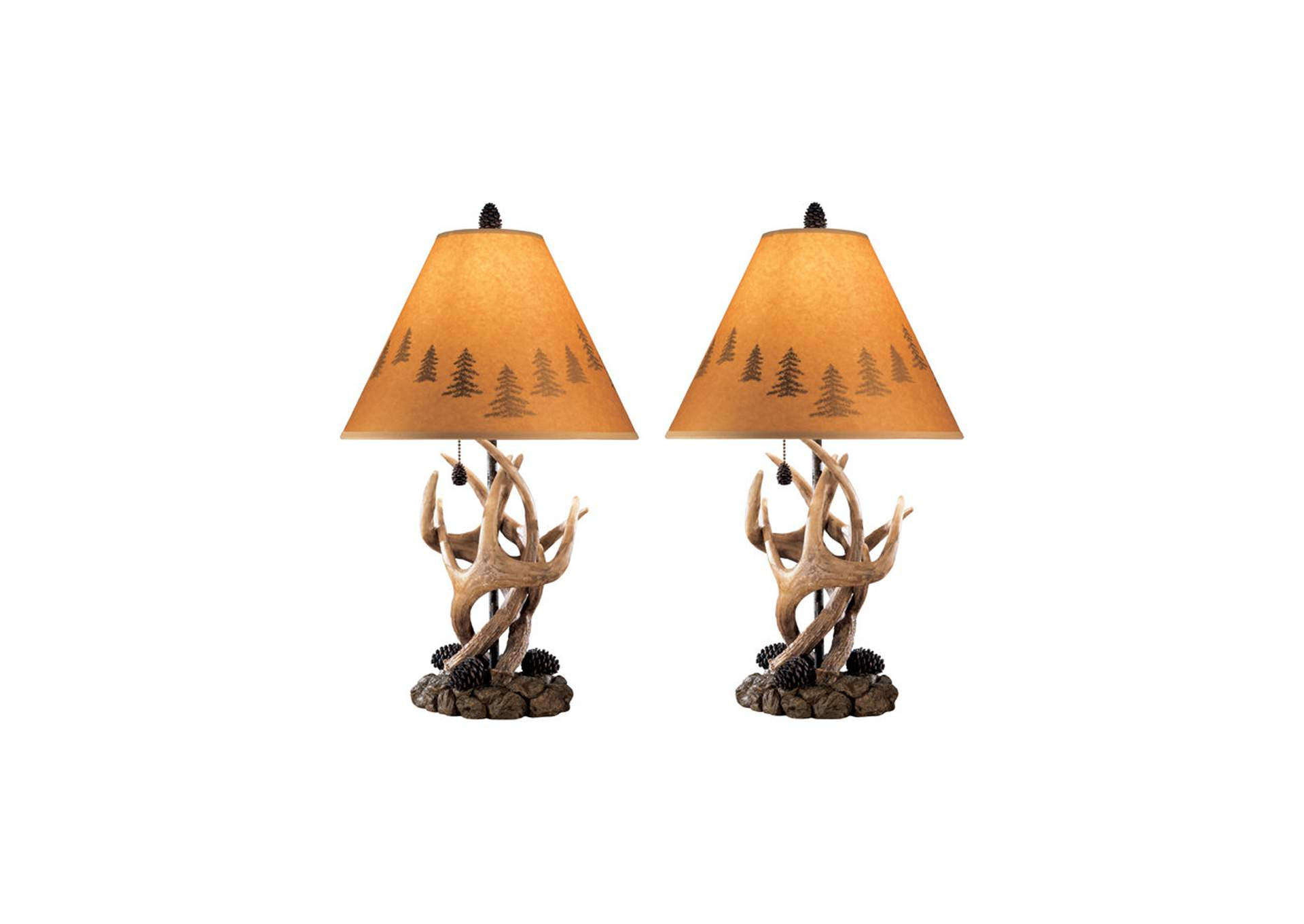 Derek Brown Poly Table Lamp (Set of 2),Direct To Consumer Express