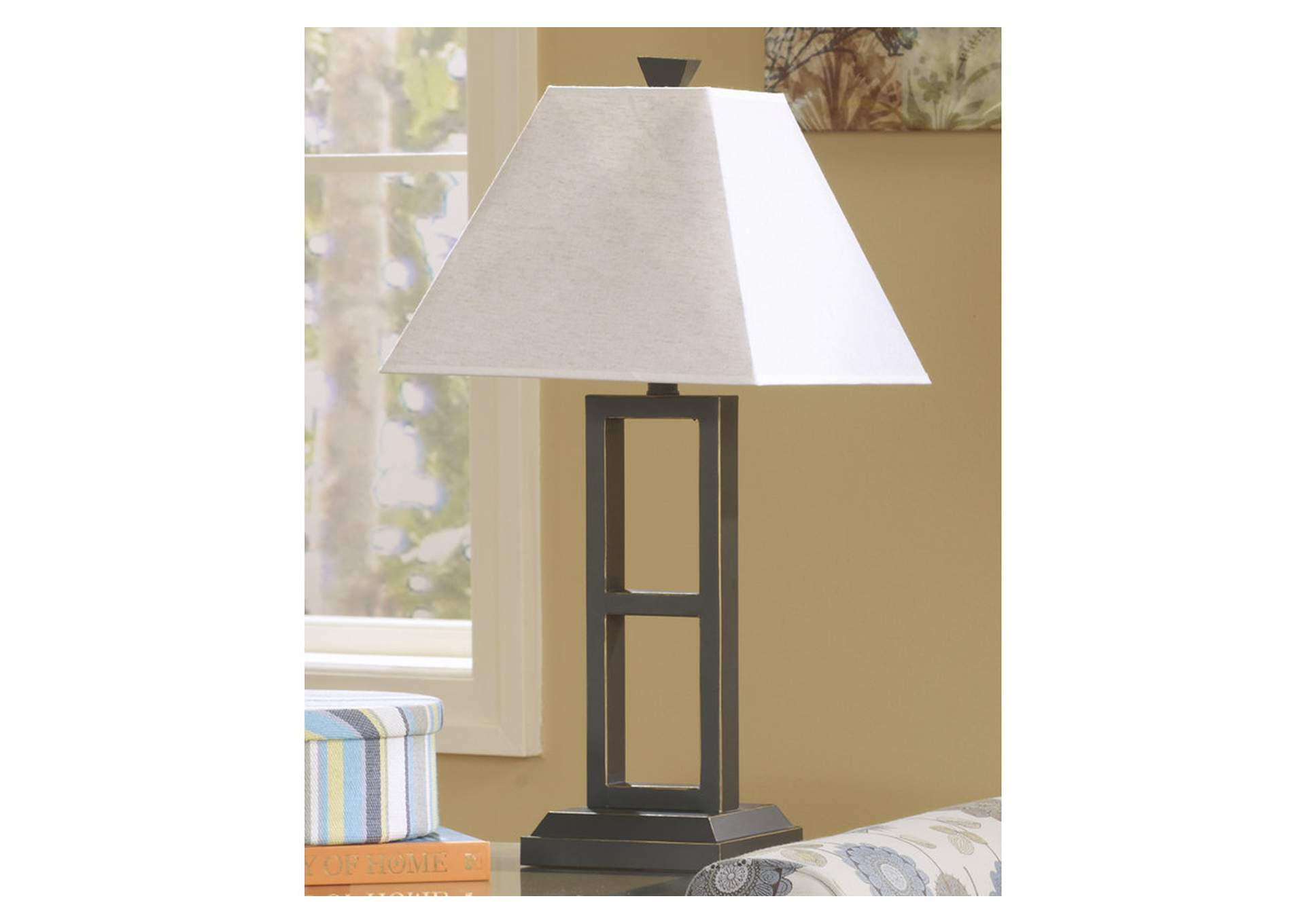 Deidra Black Metal Table Lamp (Set of 2),Direct To Consumer Express
