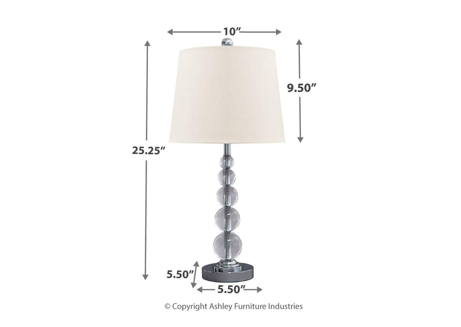 Crystal Table Lamp (Set of 2),Direct To Consumer Express