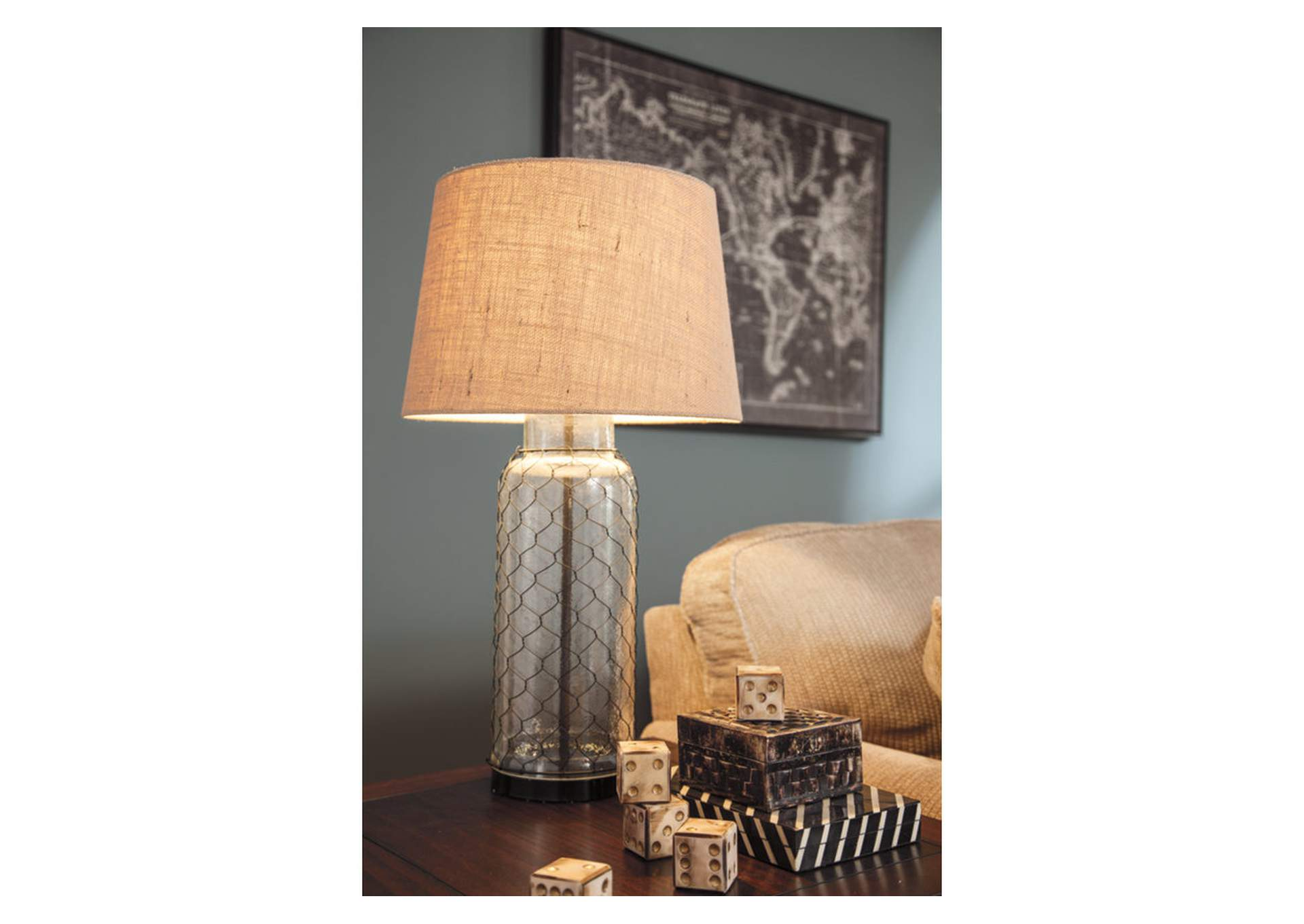 Transparent Glass Table Lamp,Direct To Consumer Express