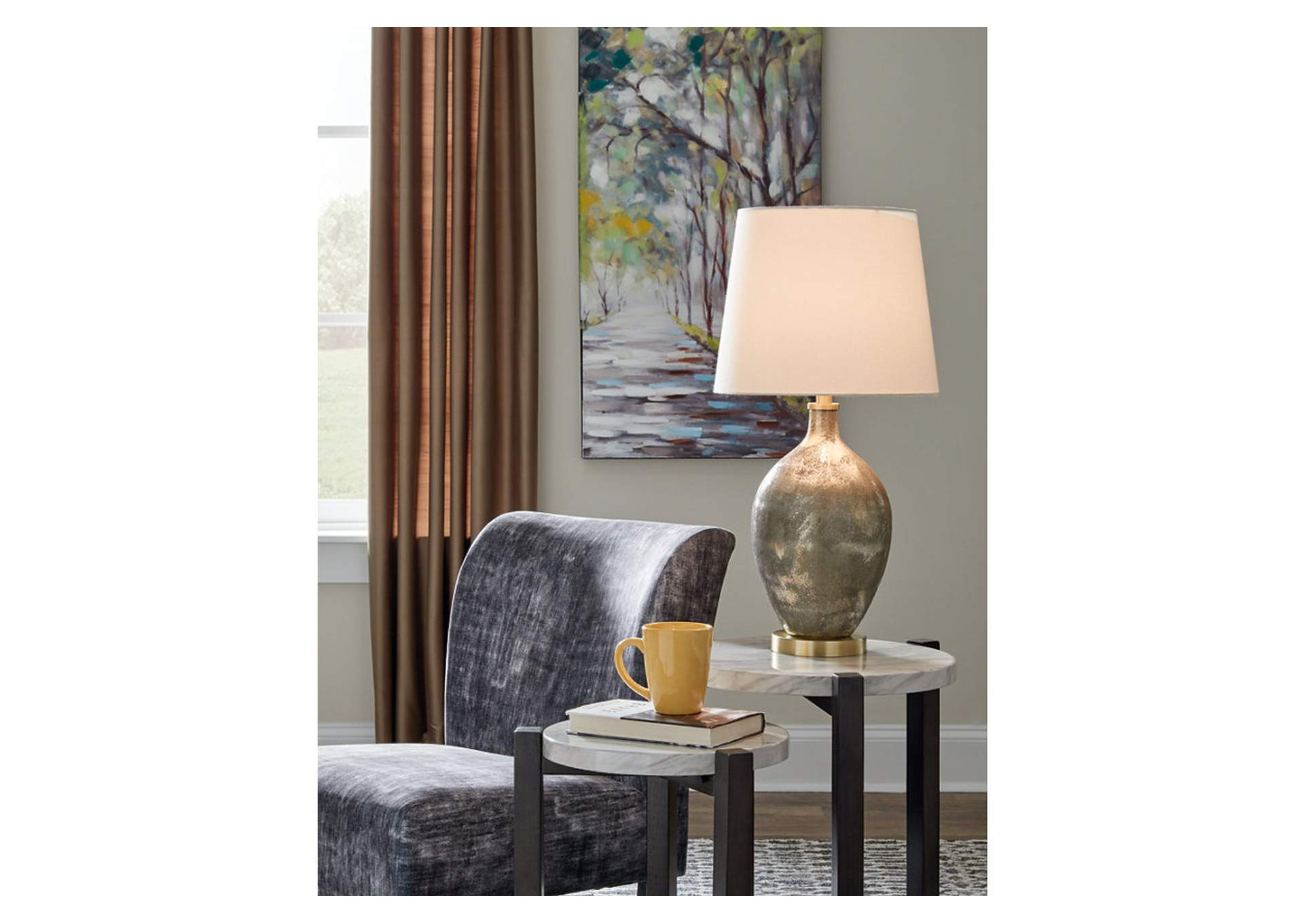 Jemarie Table Lamp,Signature Design By Ashley