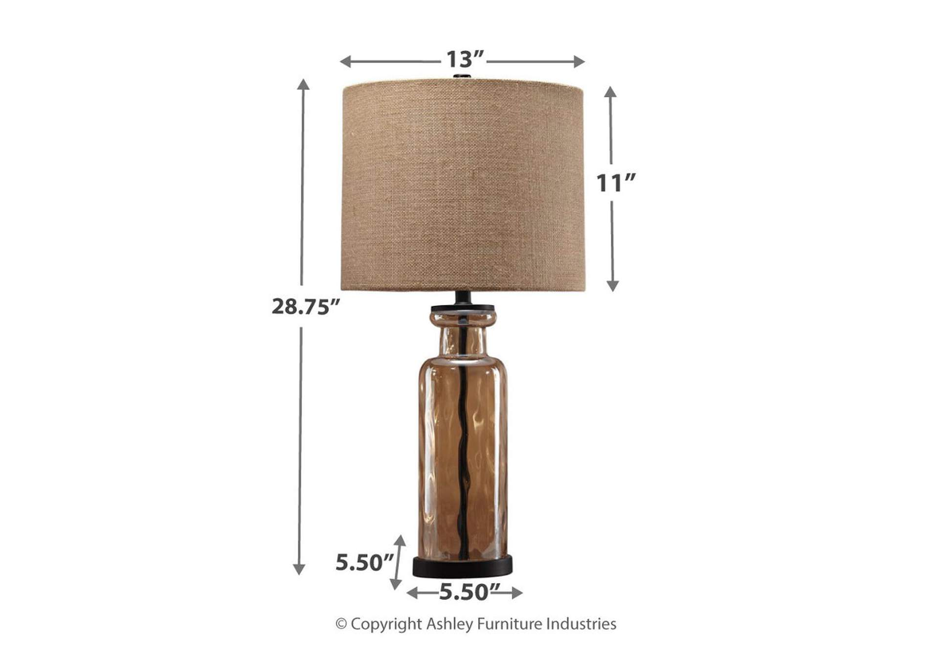 Laurentia Champagne Glass Table Lamp,Direct To Consumer Express