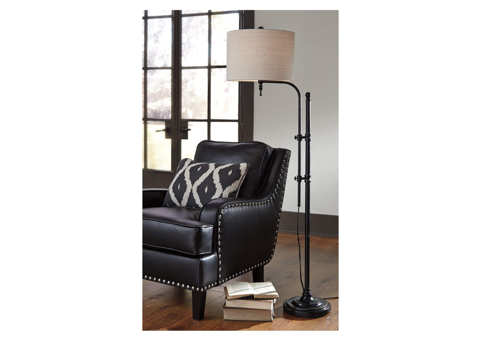 Anemoon Black Metal Floor Lamp,Direct To Consumer Express